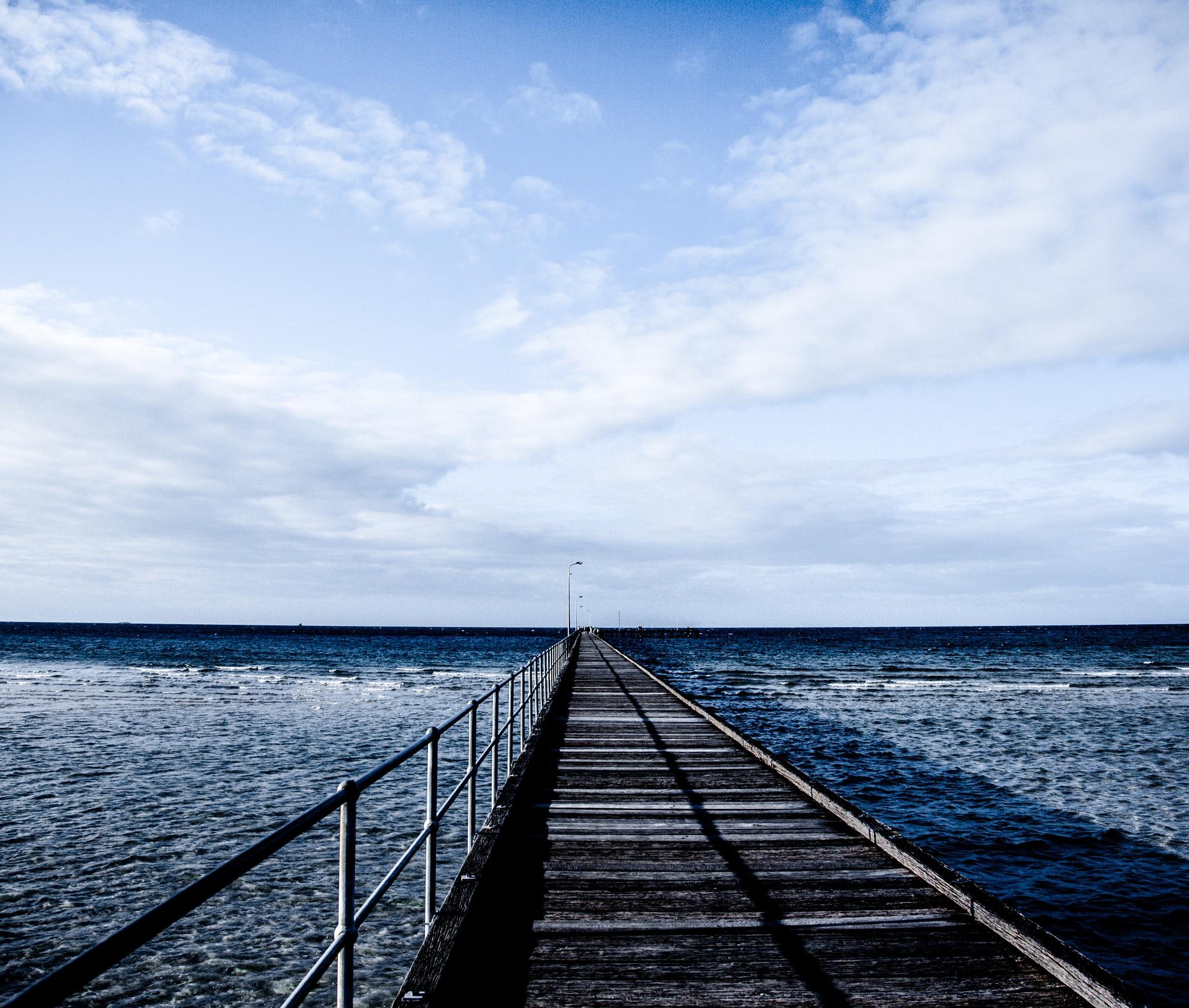 Oceans Blue by Sheehan Yu