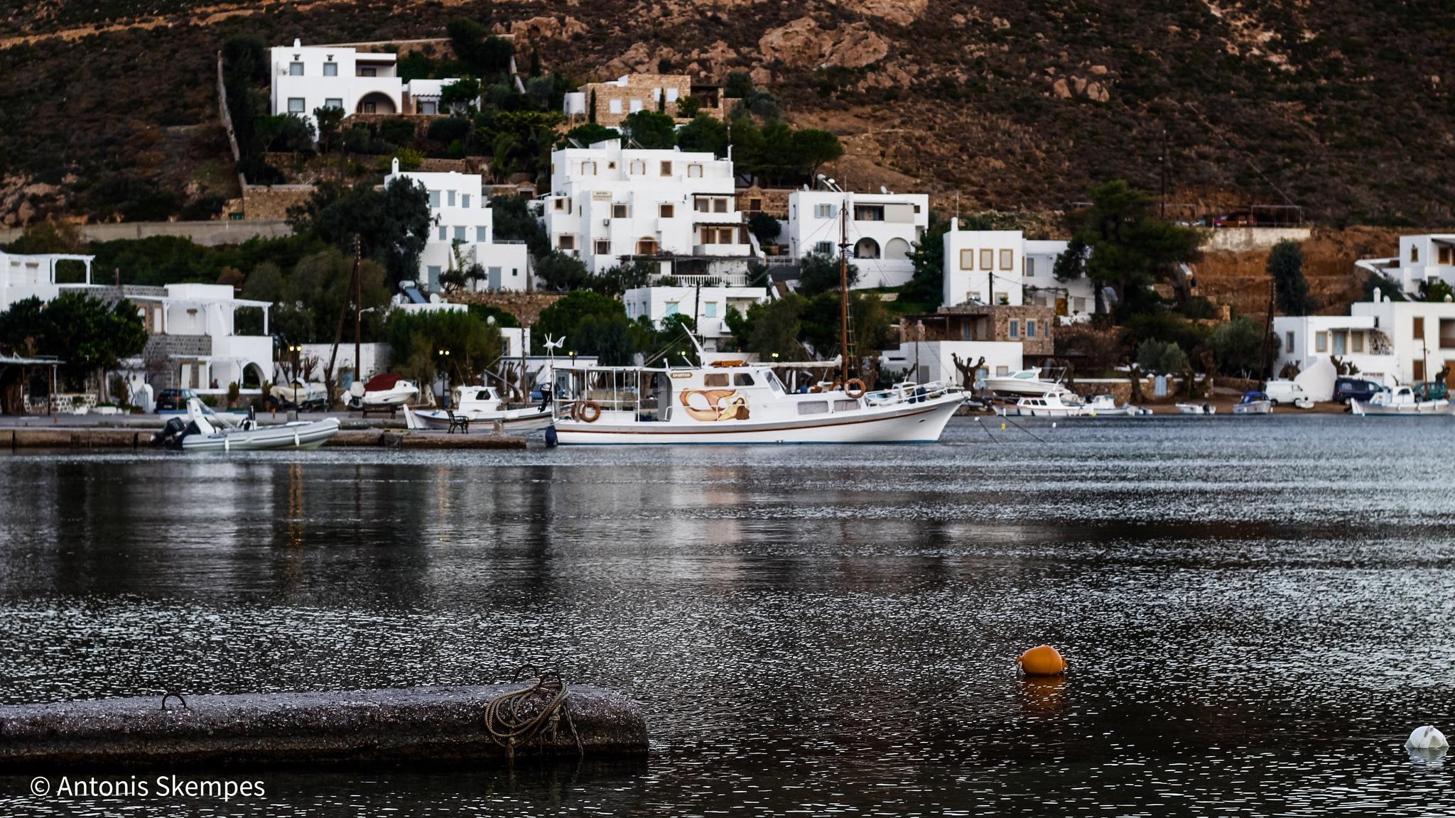 Patmos - Grikos by Antonis Skempes