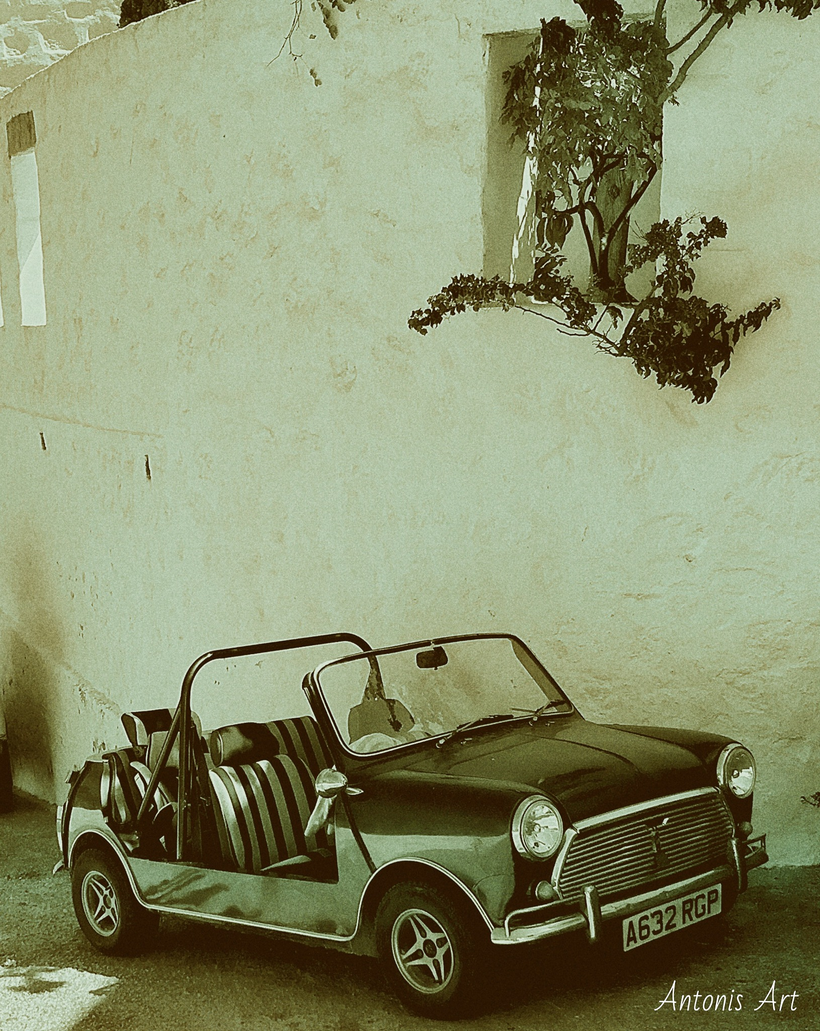 Patmos car with essence from another era by Antonis Skempes