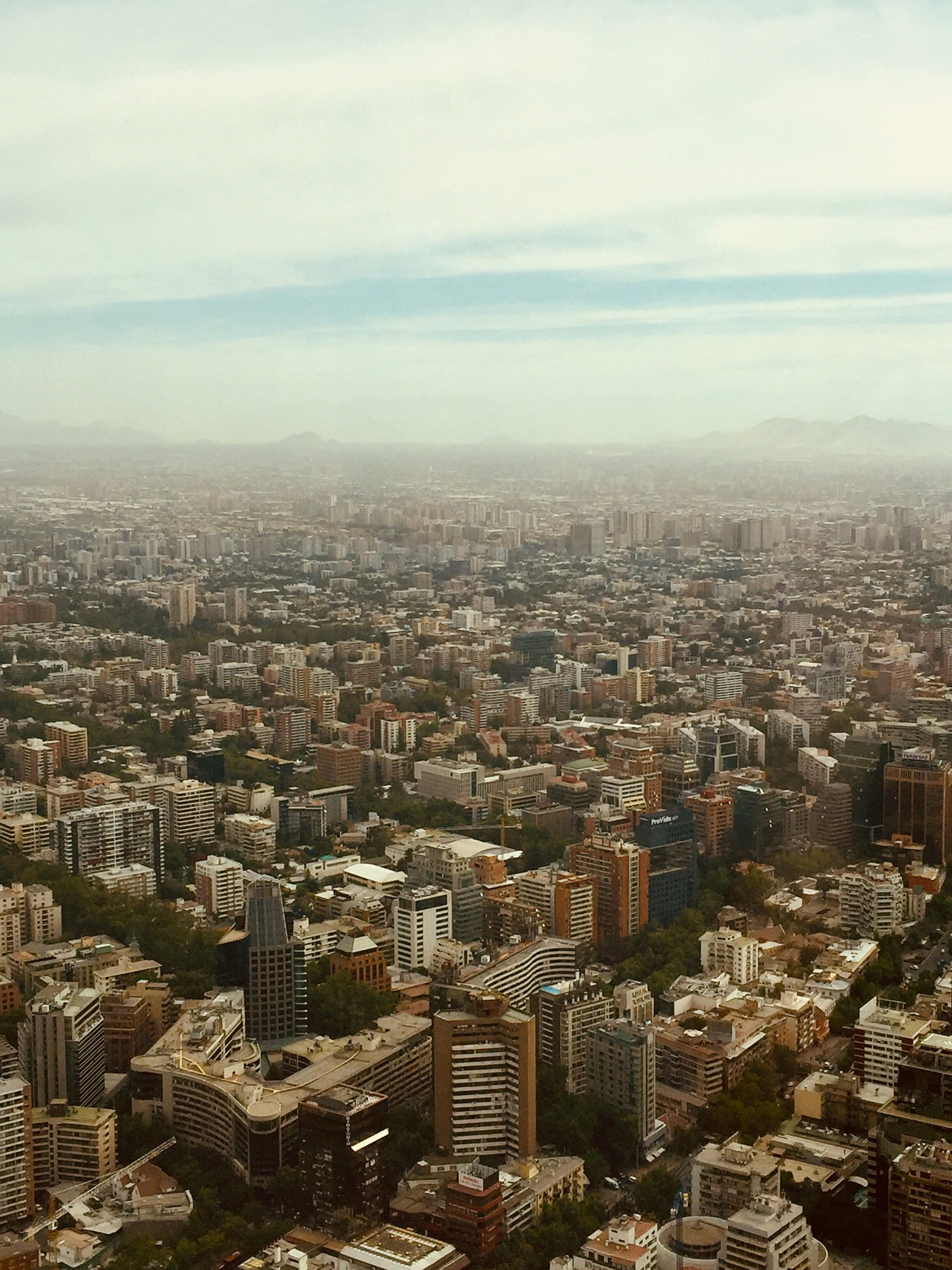 Chile | Sky Costanera by ThroughTheGlassLens