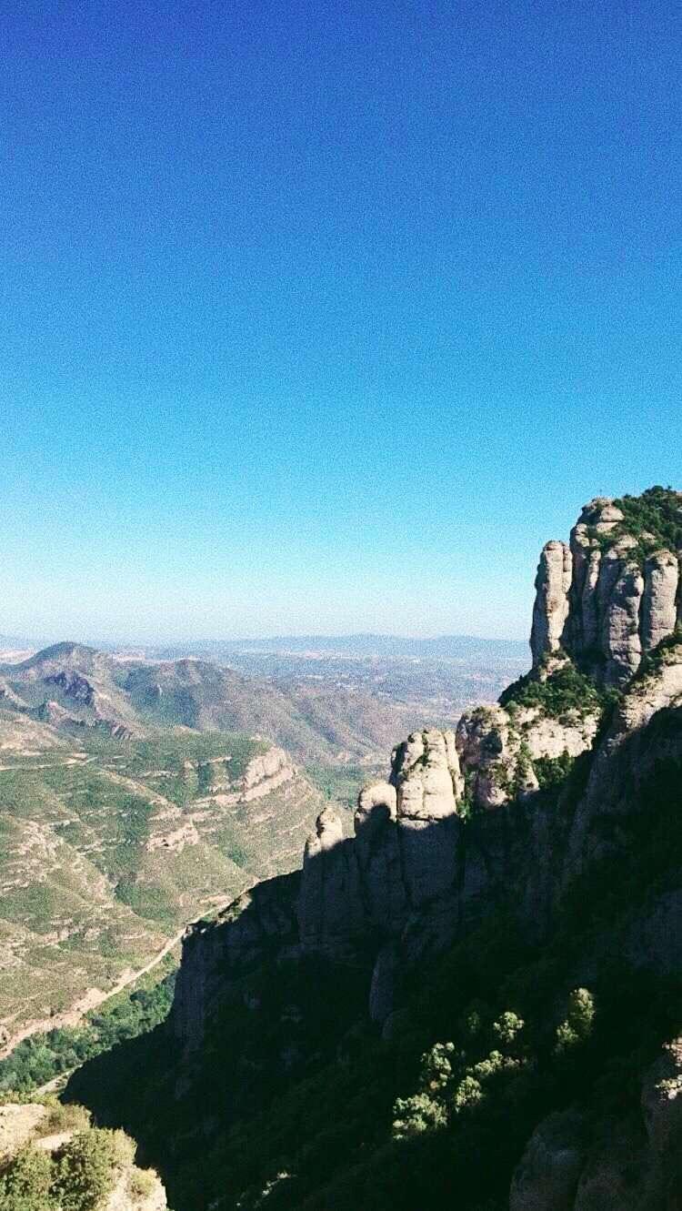 Montserrat | Barcelona, Chile by ThroughTheGlassLens