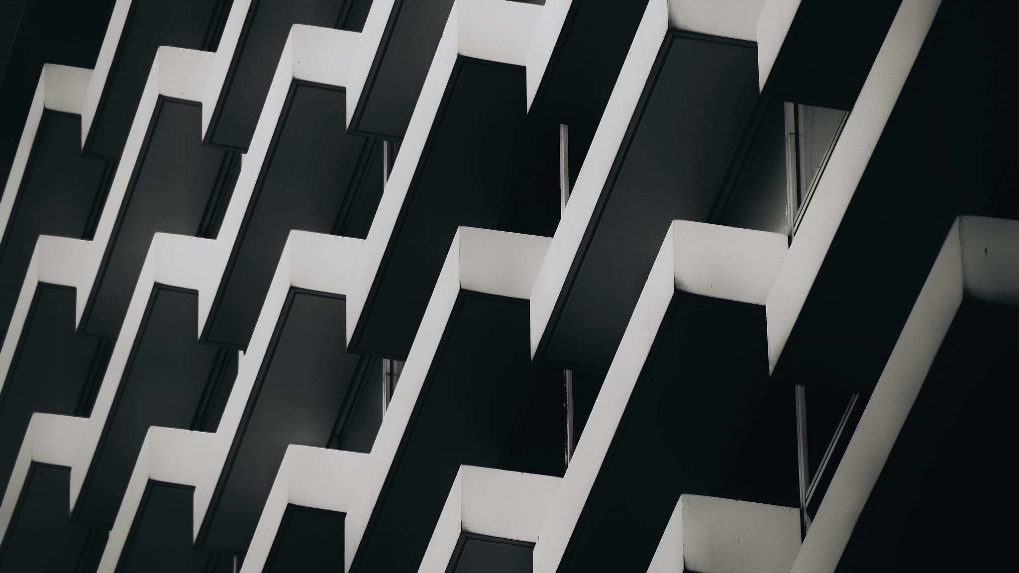the wall of zig zag by Craig Ansibin