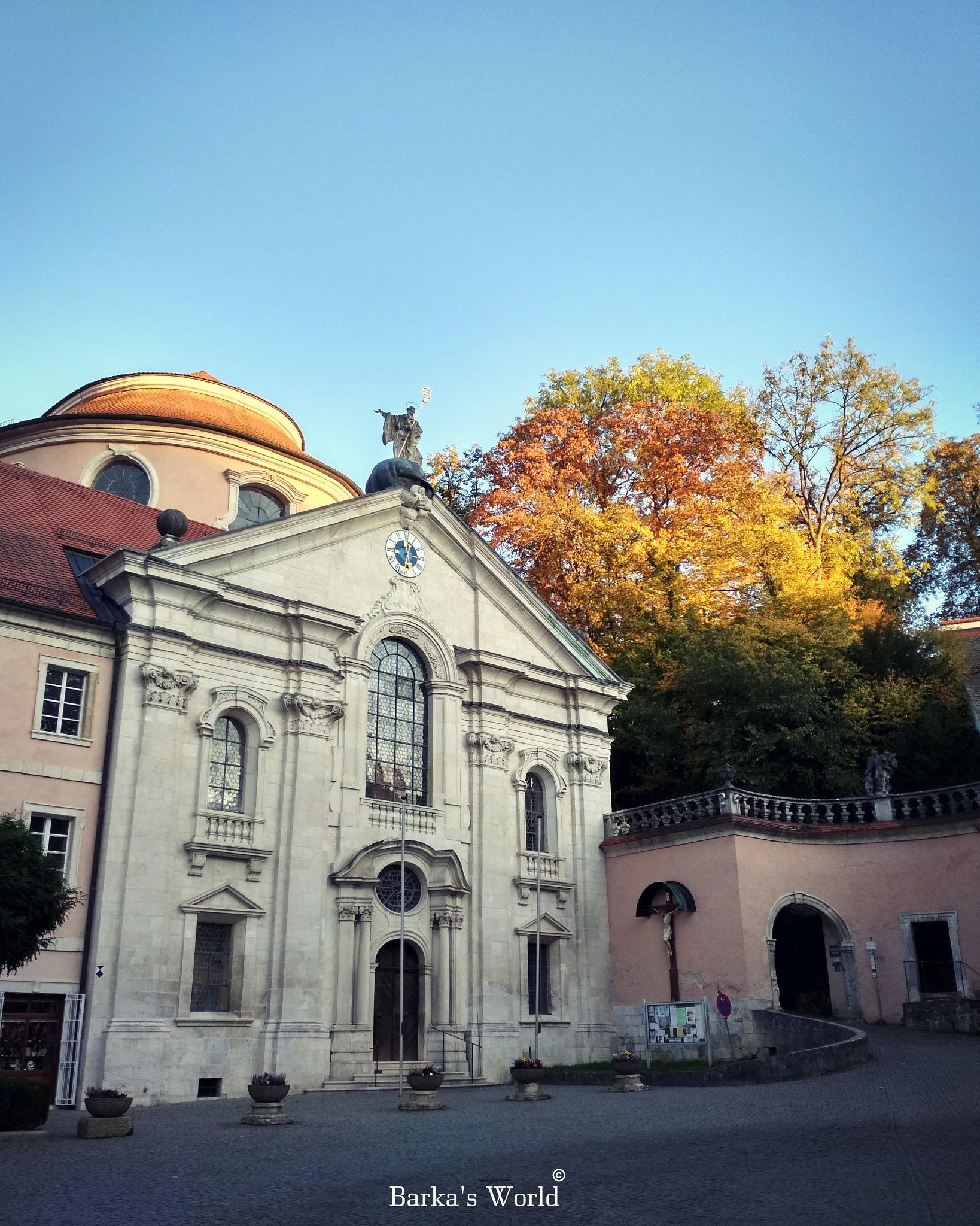 Weltenburg Autumn  by Barbara Csarnai