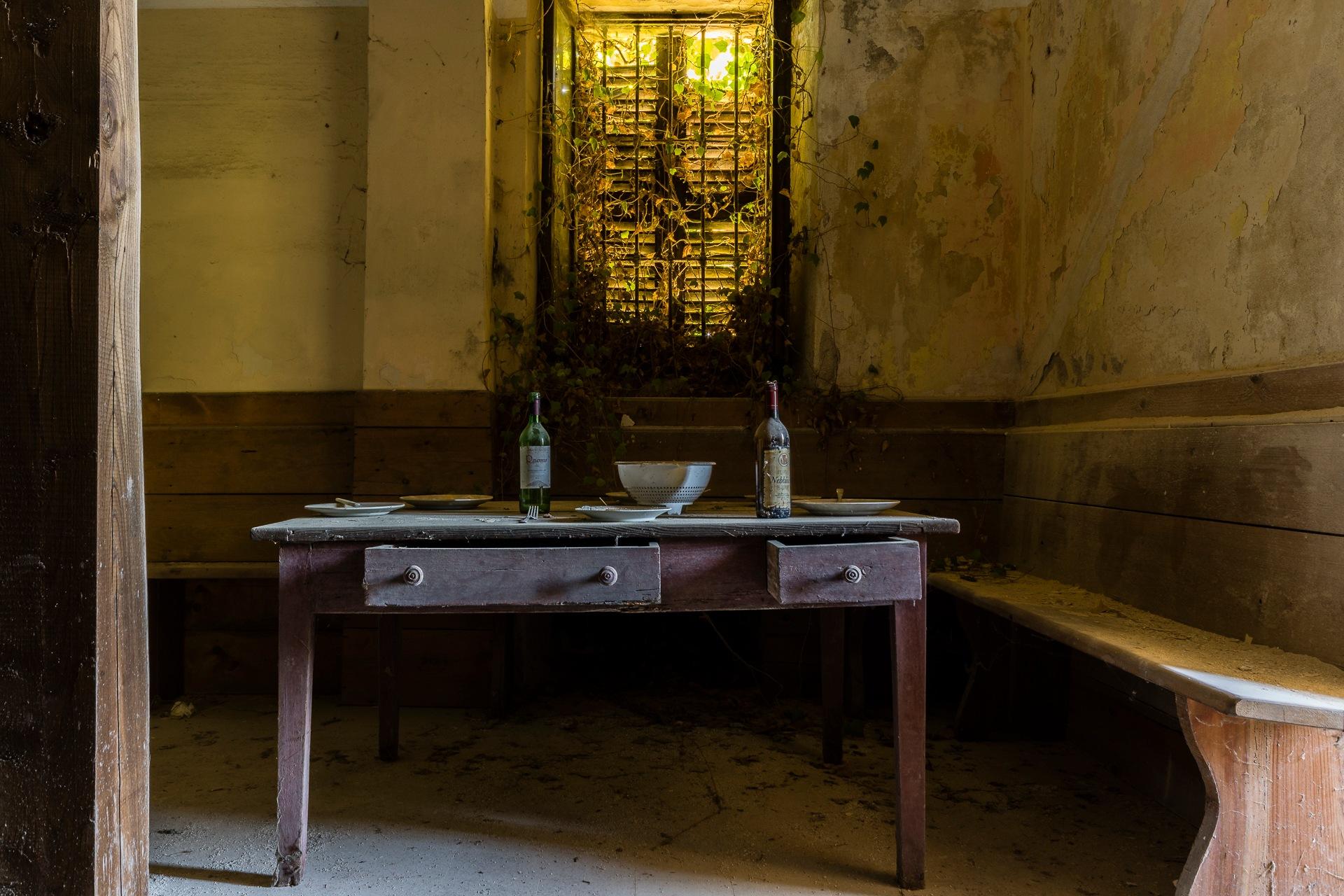 Dinner still not served by Joël Arys