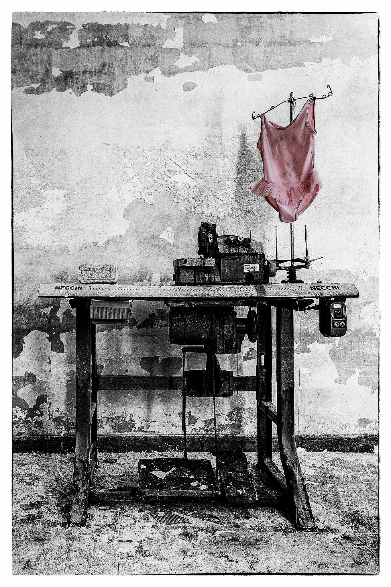 pink tutu by Joël Arys