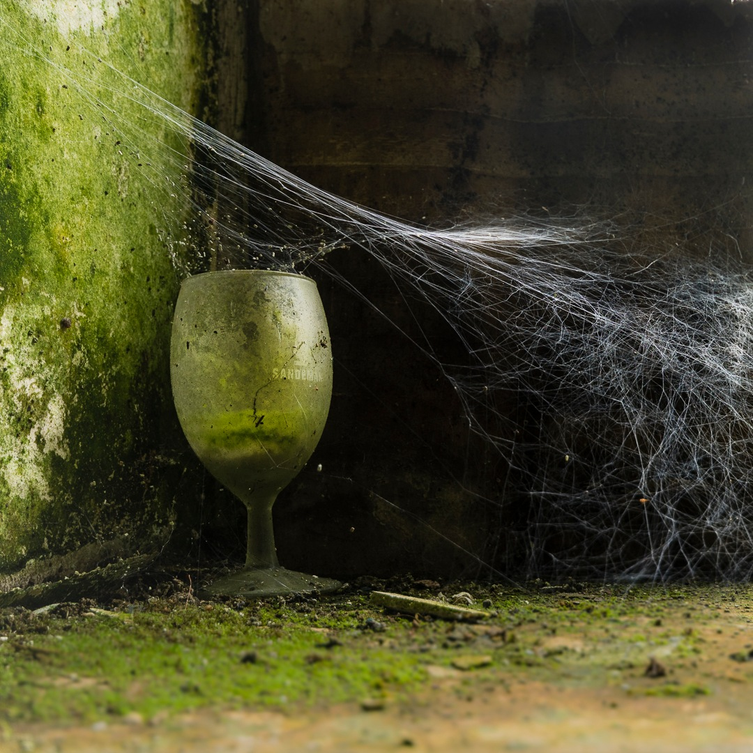 The glass is half full by Joël Arys