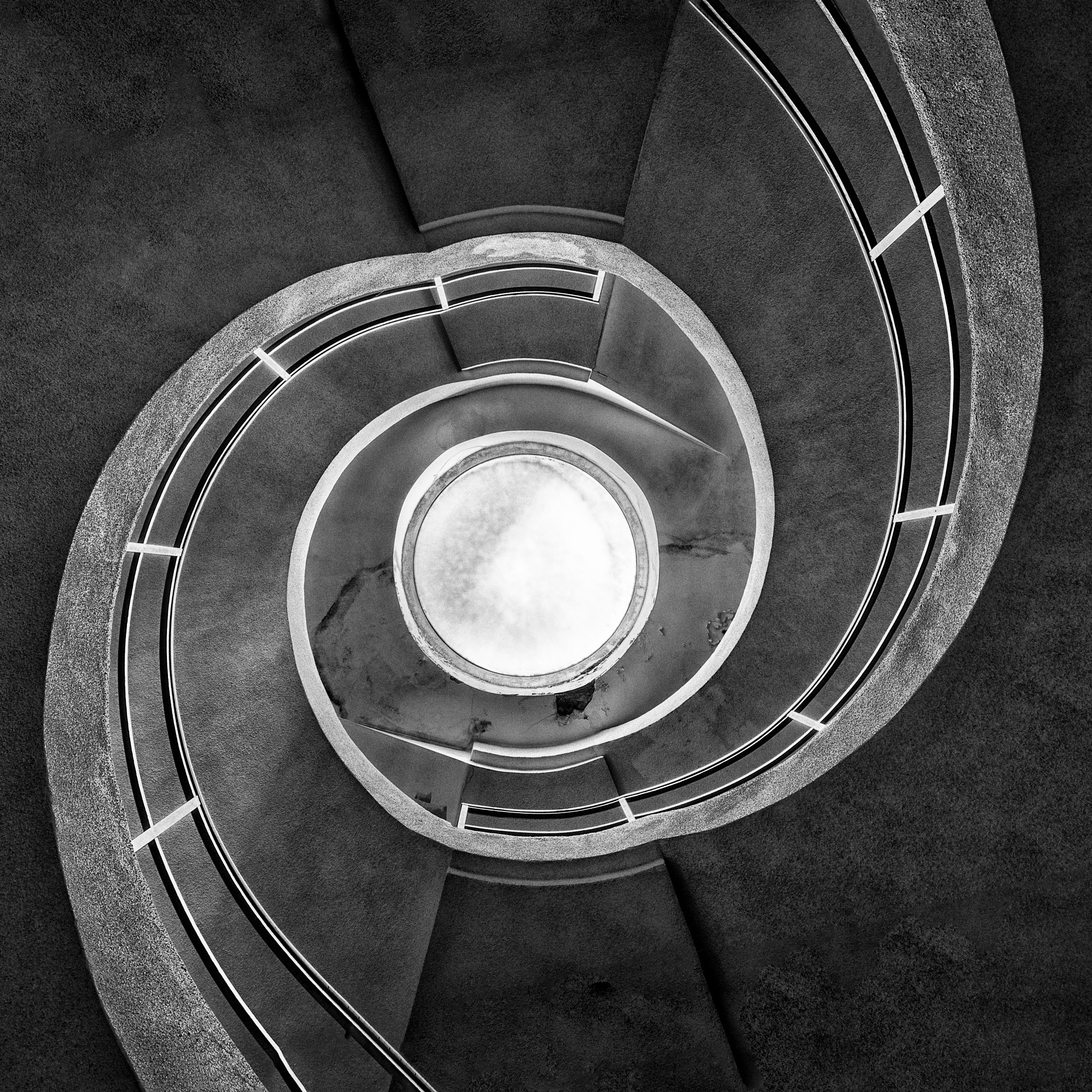 Double twisted stairs by Joël Arys