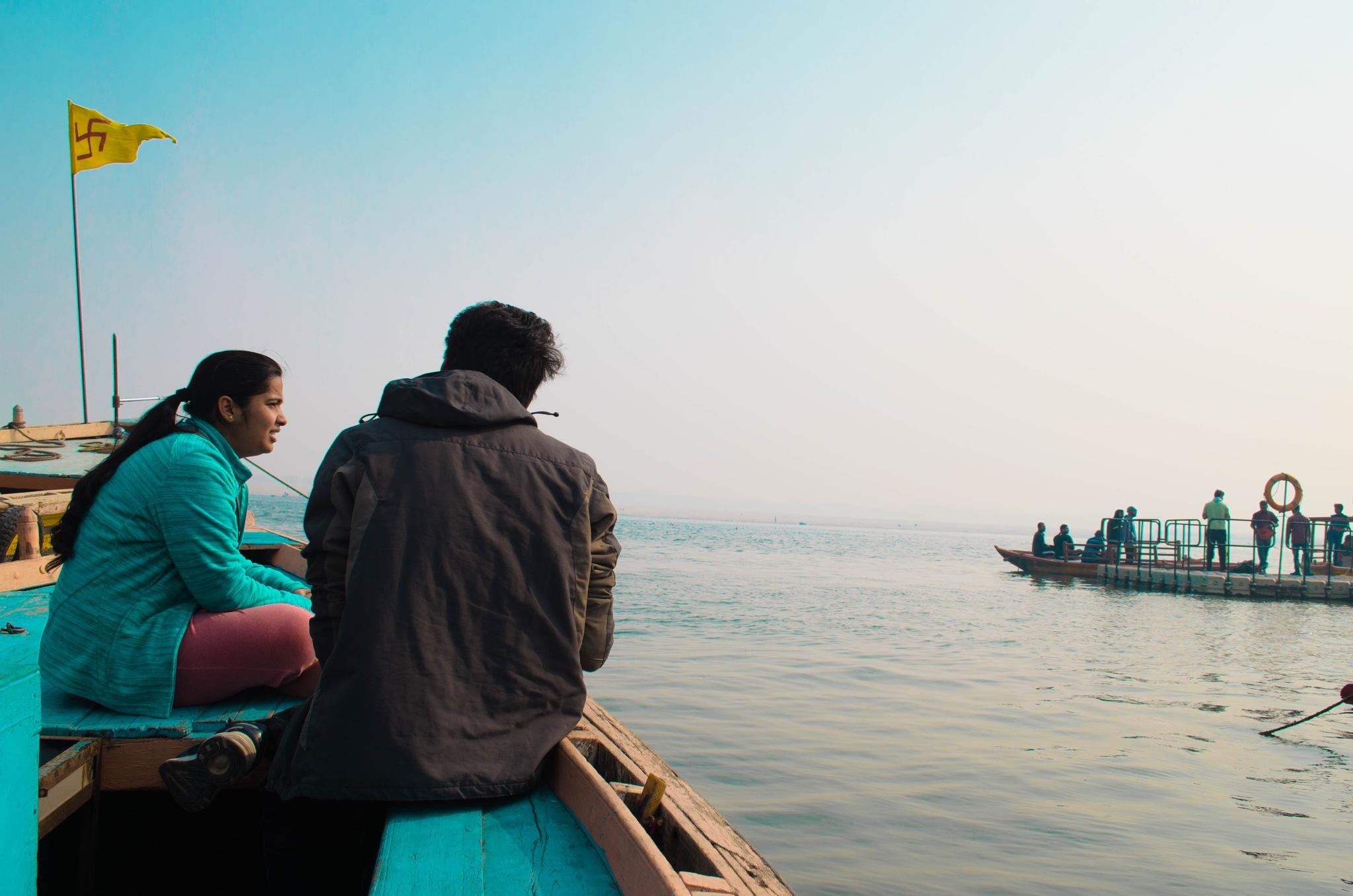 A Day in Banaras by Prateek Khatri