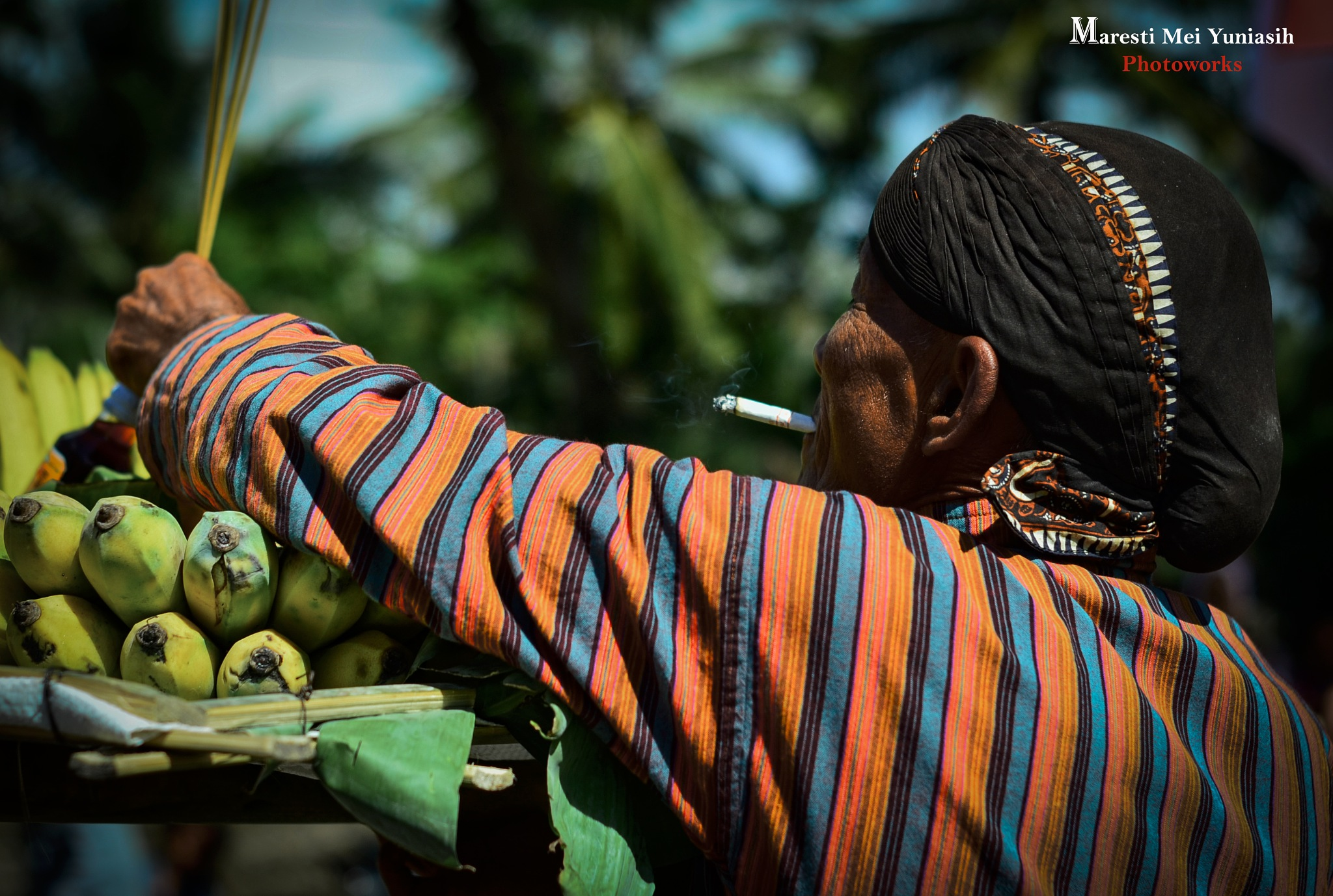 People Of Java Indonesia by Maresti Mei Yuniasih
