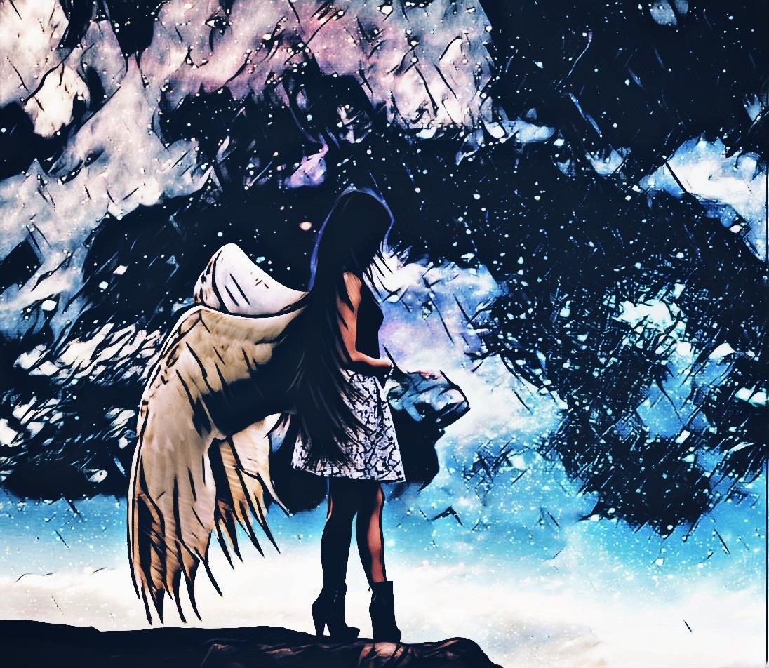 Angel of a lone destiny by ZeroNova