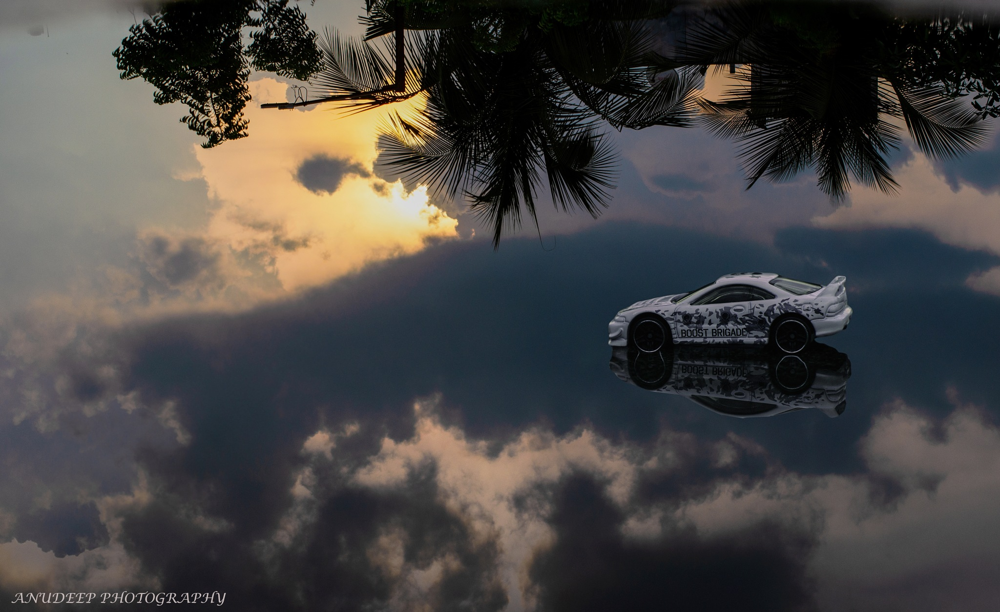The perfect reflection! by anudeepbalagam