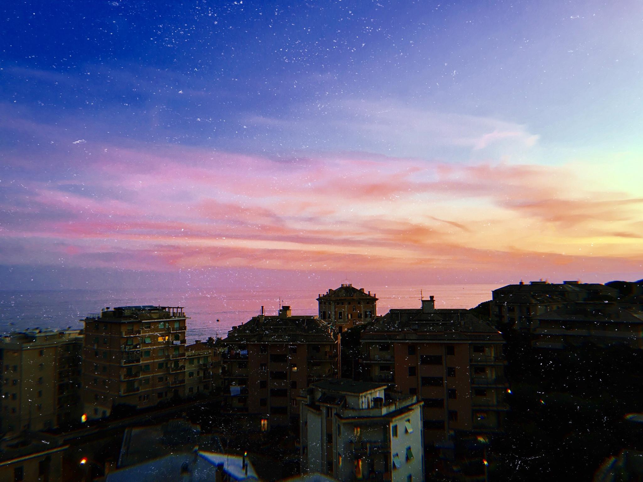 Sunset lover. by Annarosa Marraudino