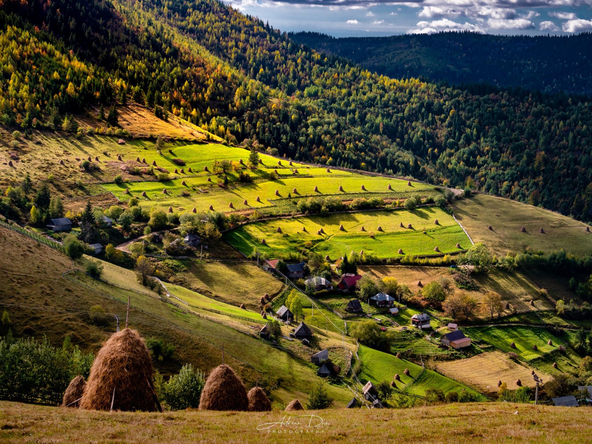 Romanian Landscape  by Adrian Dan