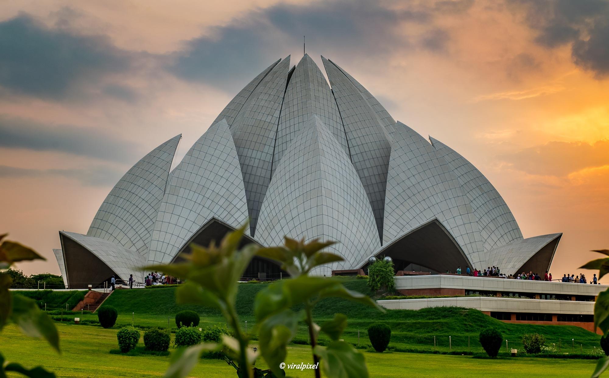 Lotus Temple by Sk Aftab