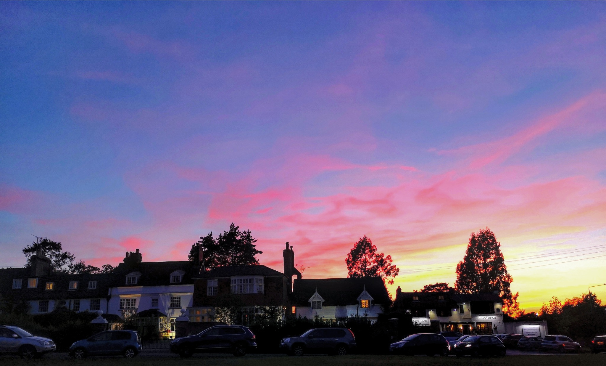 Sunset over Sevenoaks by everydaywithcandk