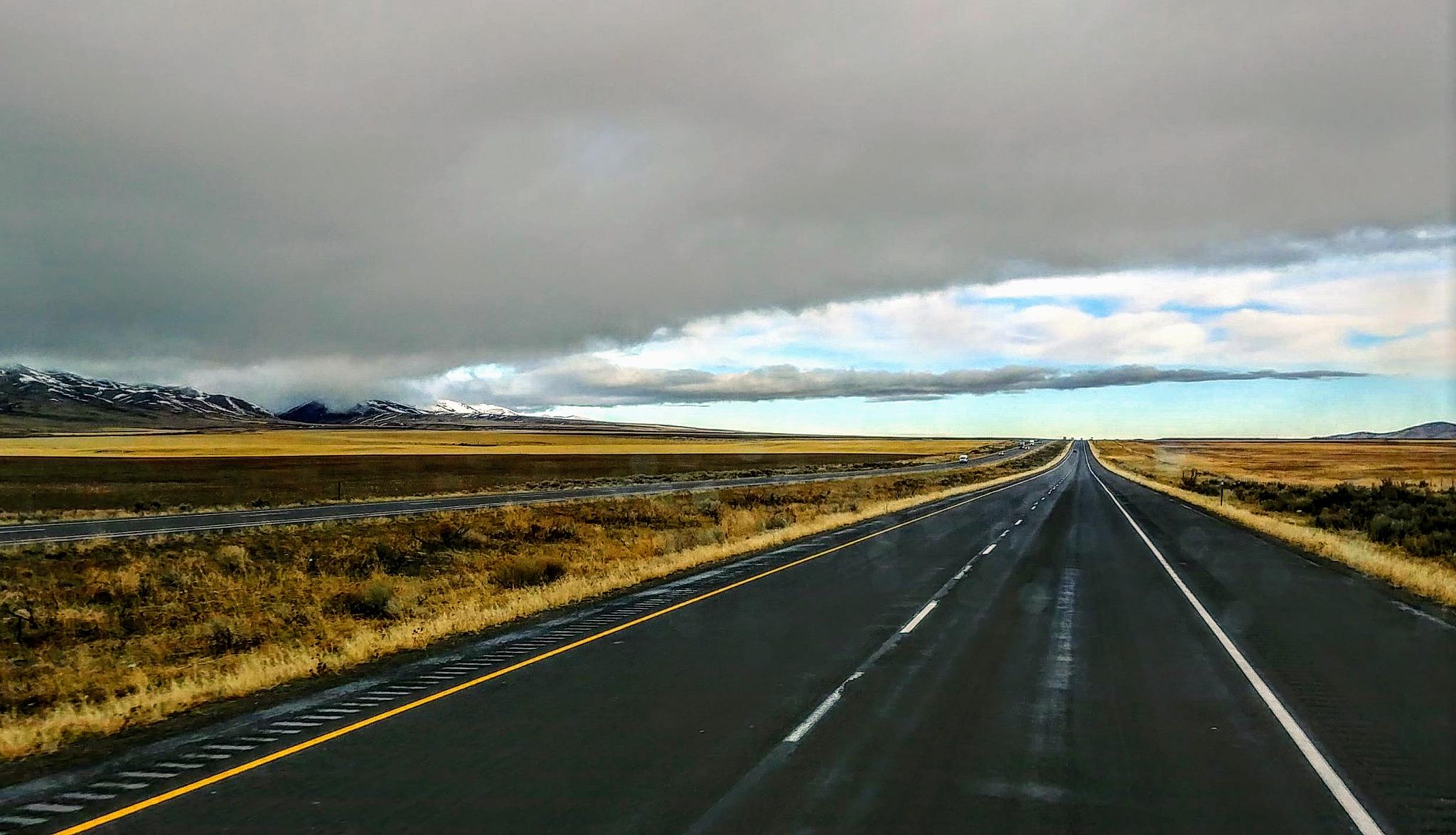 Open Highway by Matt Clark