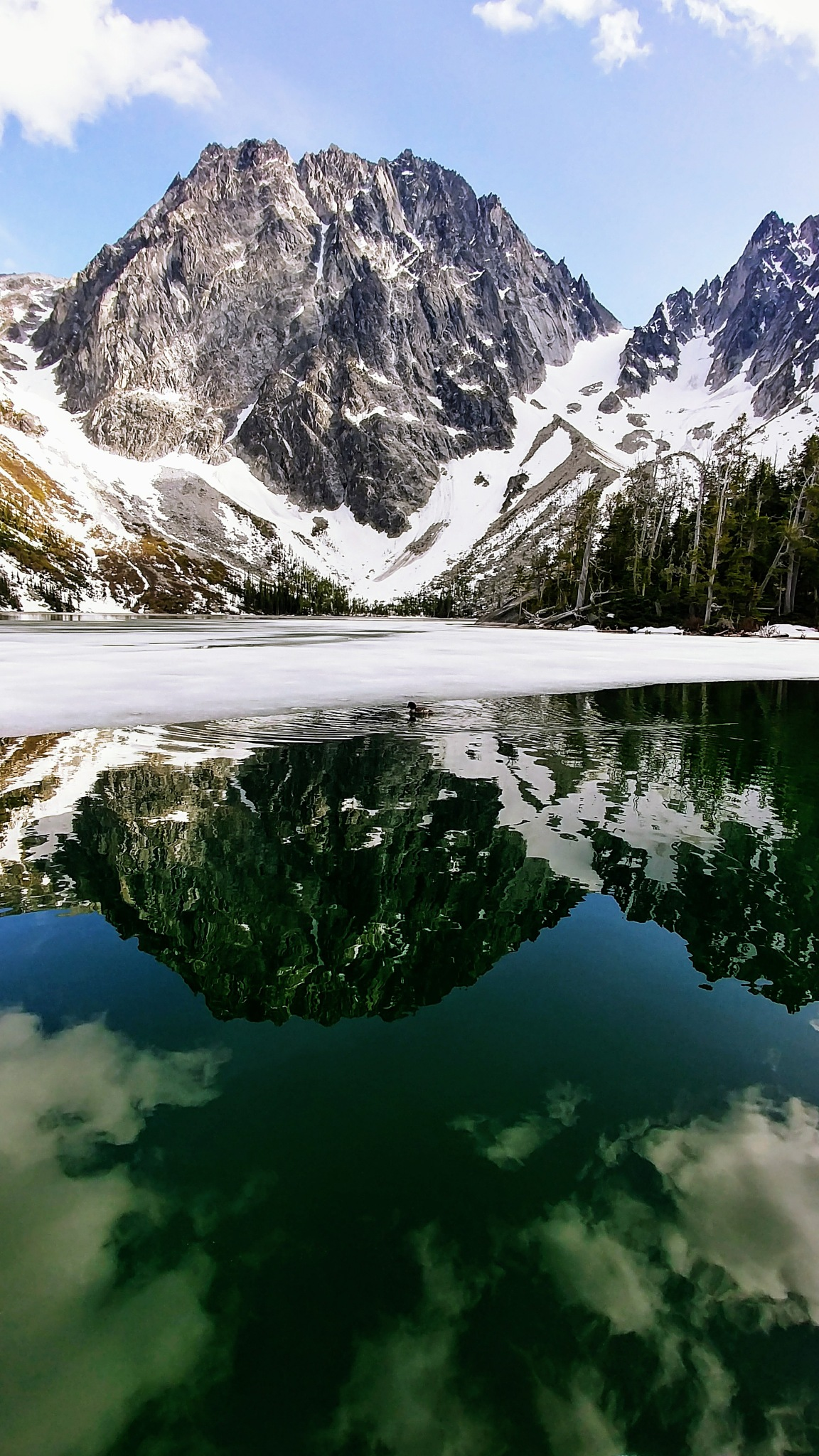 Alpine Lake by Matt Clark
