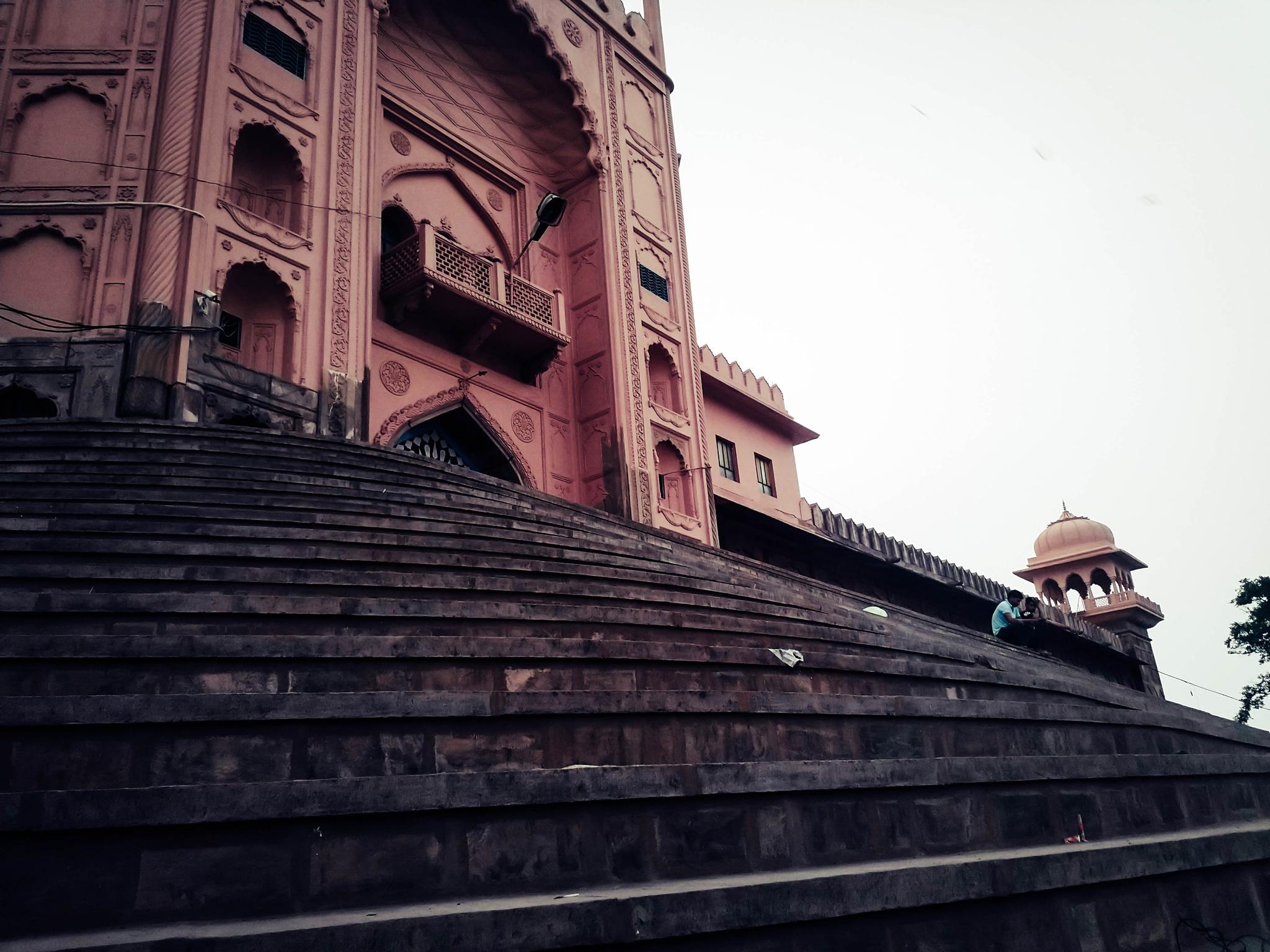 Taj-ul-Masjid_BHOPAL,INDIA by Anmol Vishwakarma