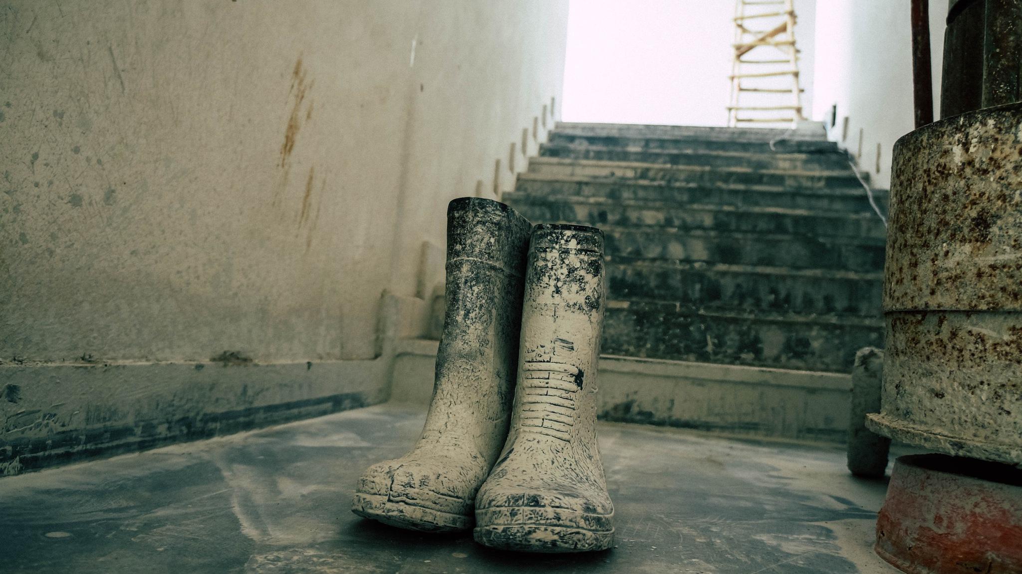 Hardworking Shoes by Anmol Vishwakarma