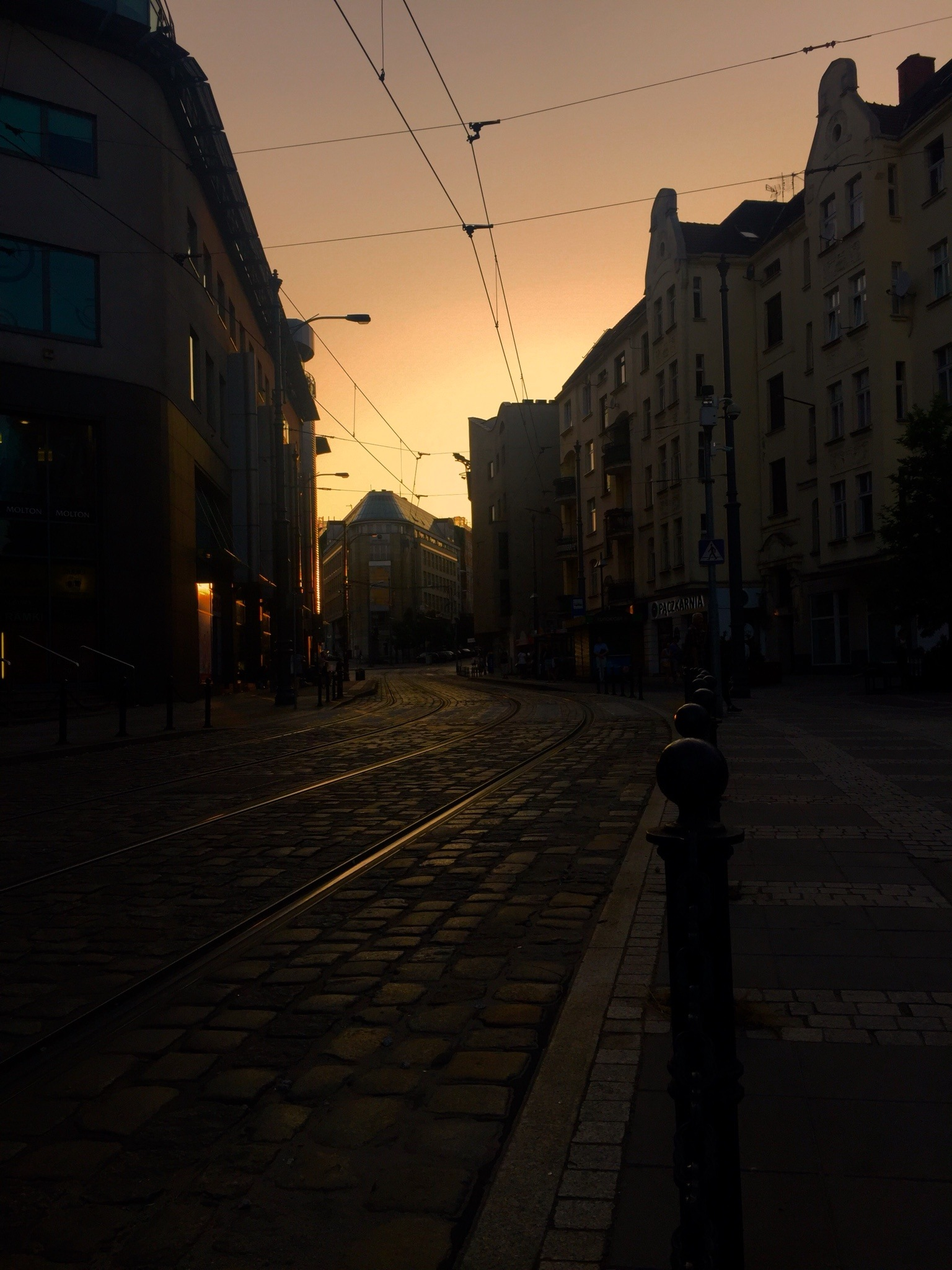 Poznań na pomarańczowo by Alicja Przybysławska
