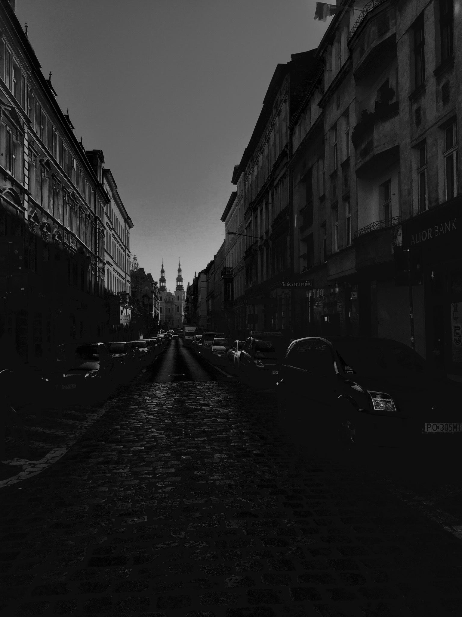 Półwiejska Street by Alicja Przybysławska