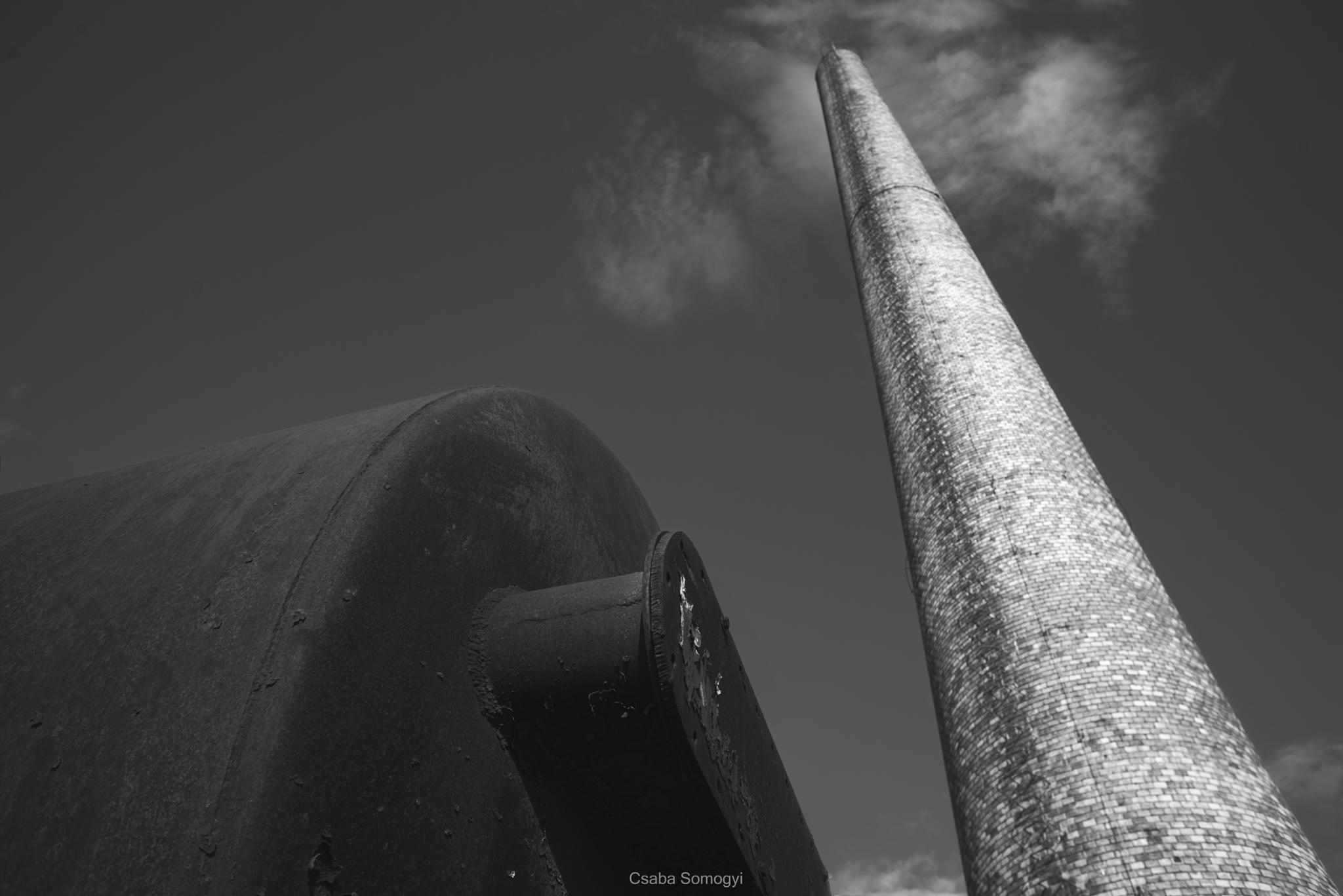 Chimney by Csaba Somogyi