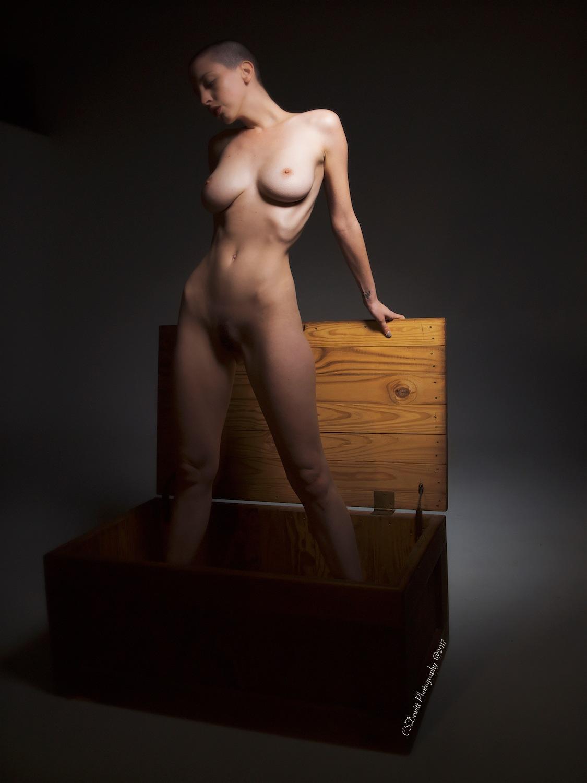 Standing in her Box by C.S. Dewitt Buck