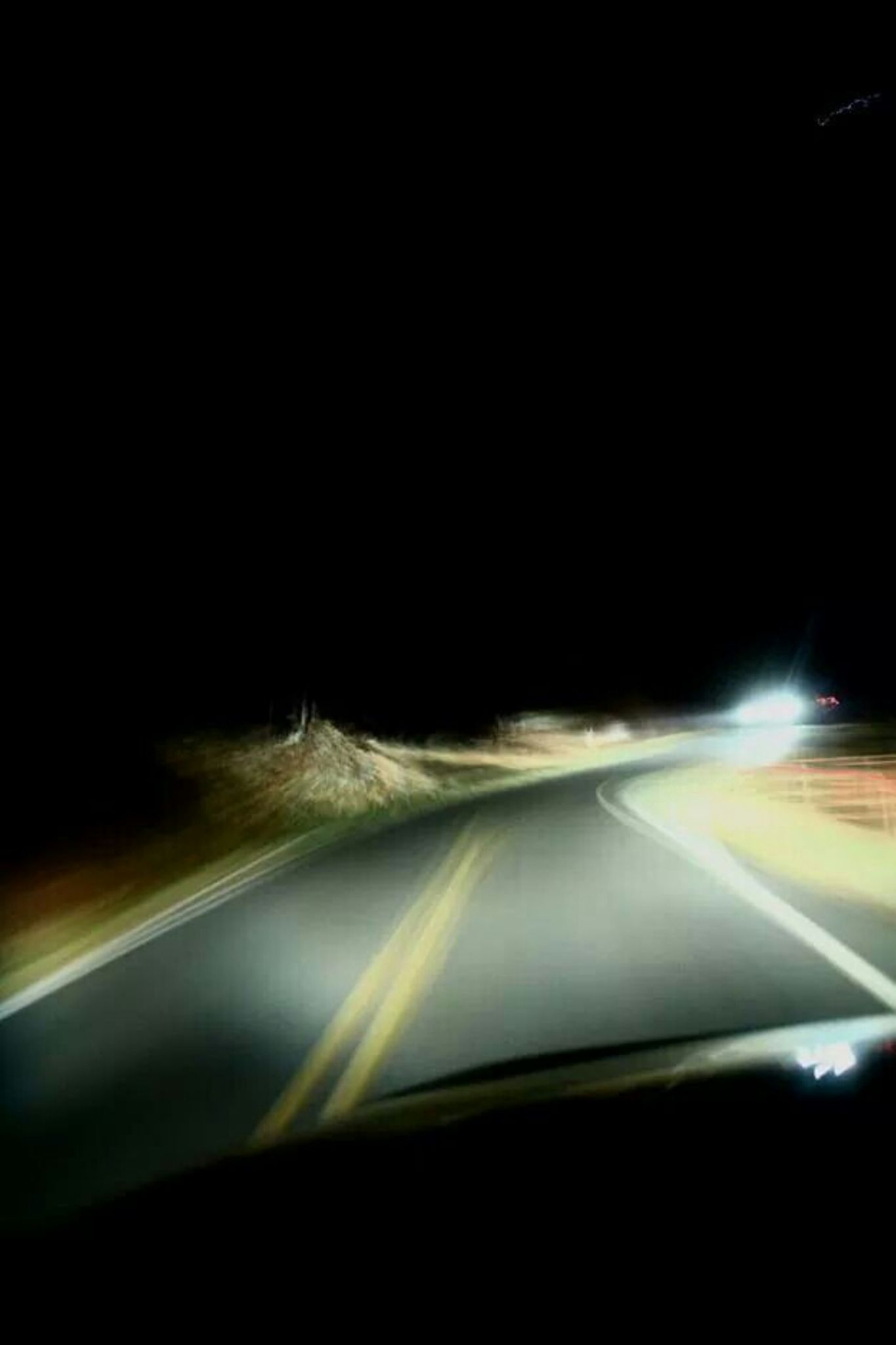 Night driving ( don't try this at home) by Jake Metcalf