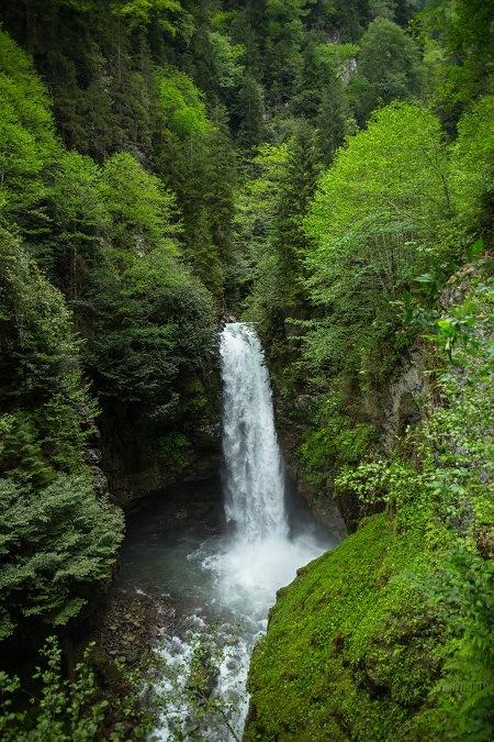 waterfall by Salih Yılmaz