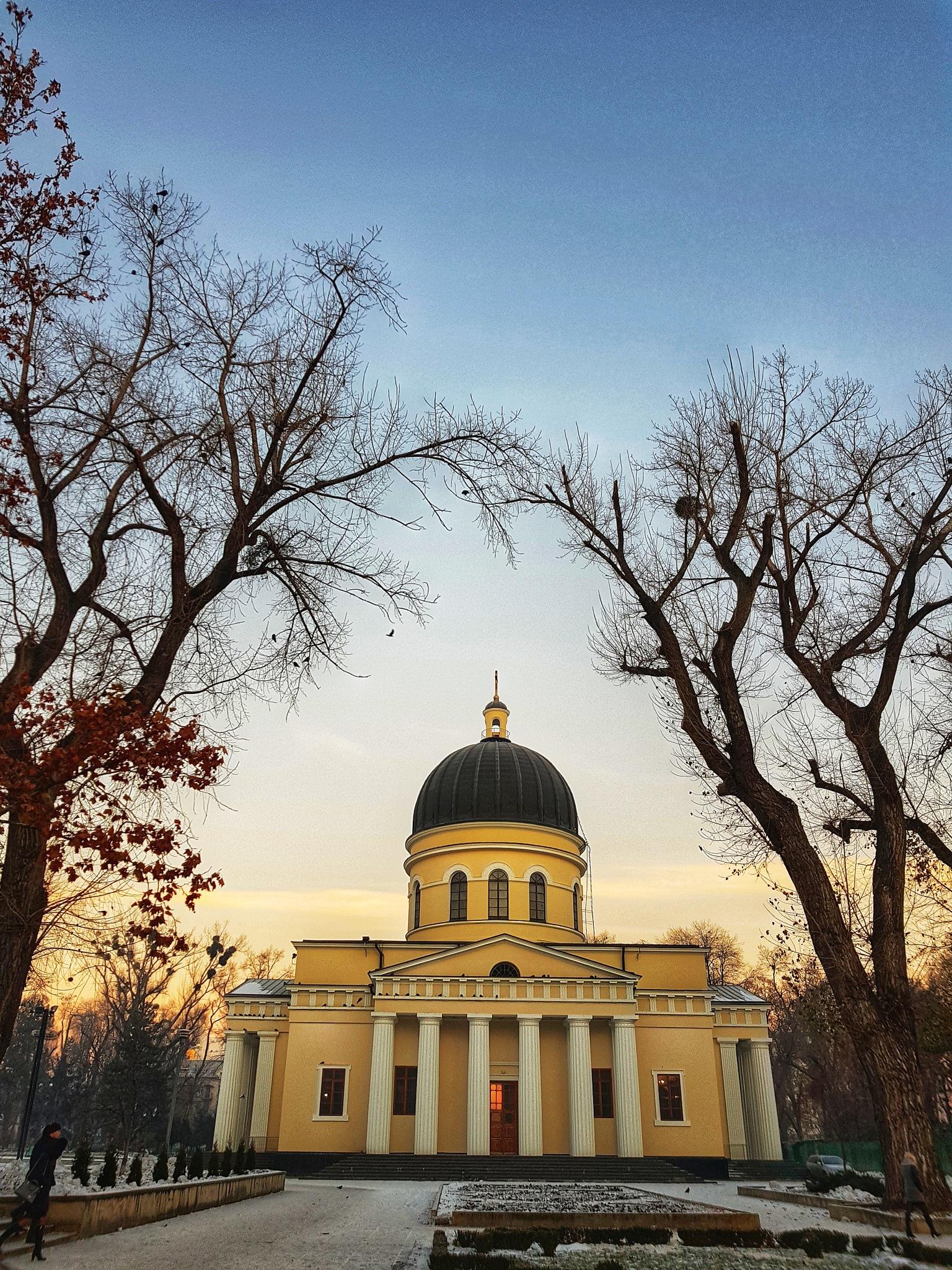 Nativity Cathedral, Chisinau by Anastasia Golban