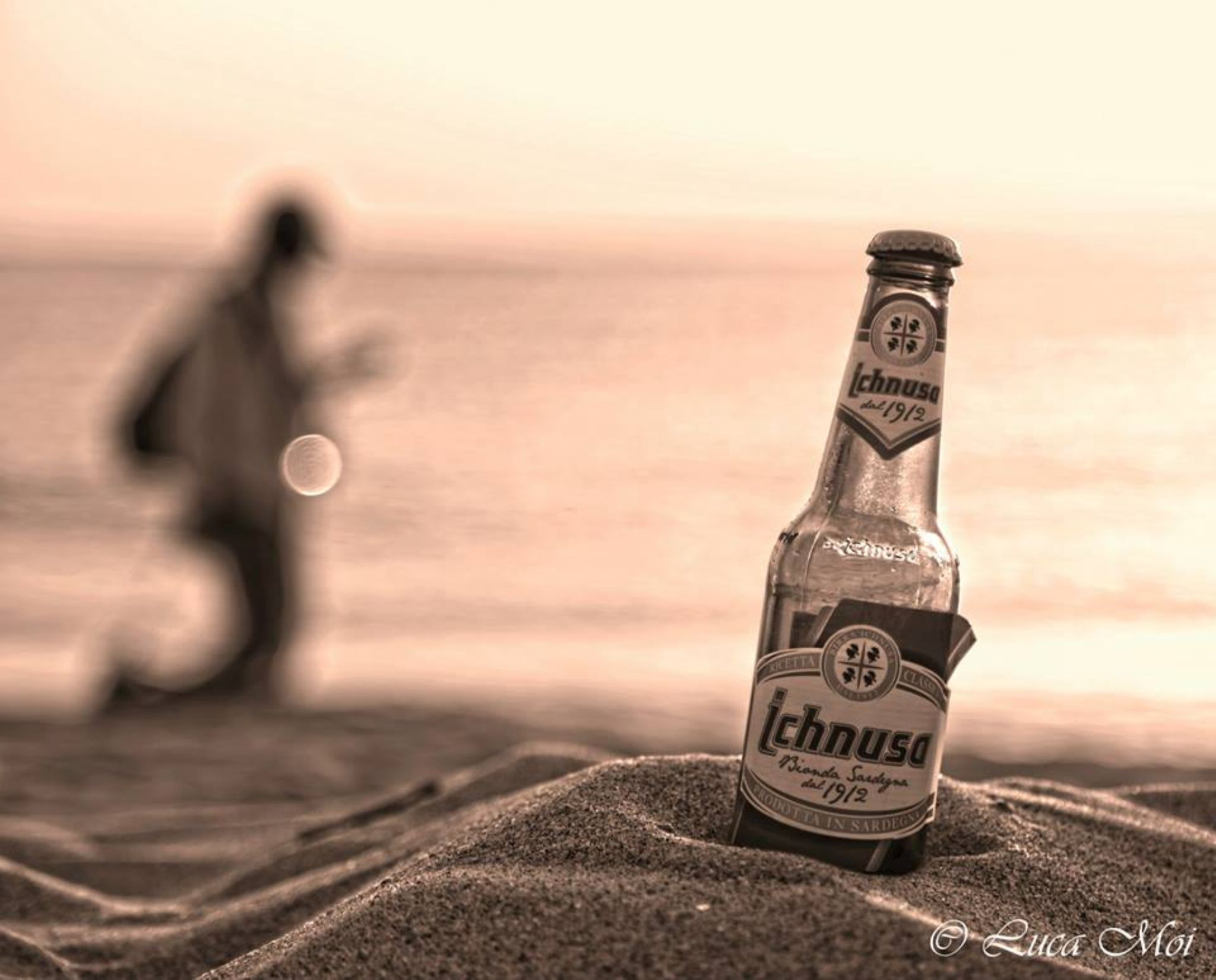 Bolnde Sardinian Beer by Luca MoiPhotography