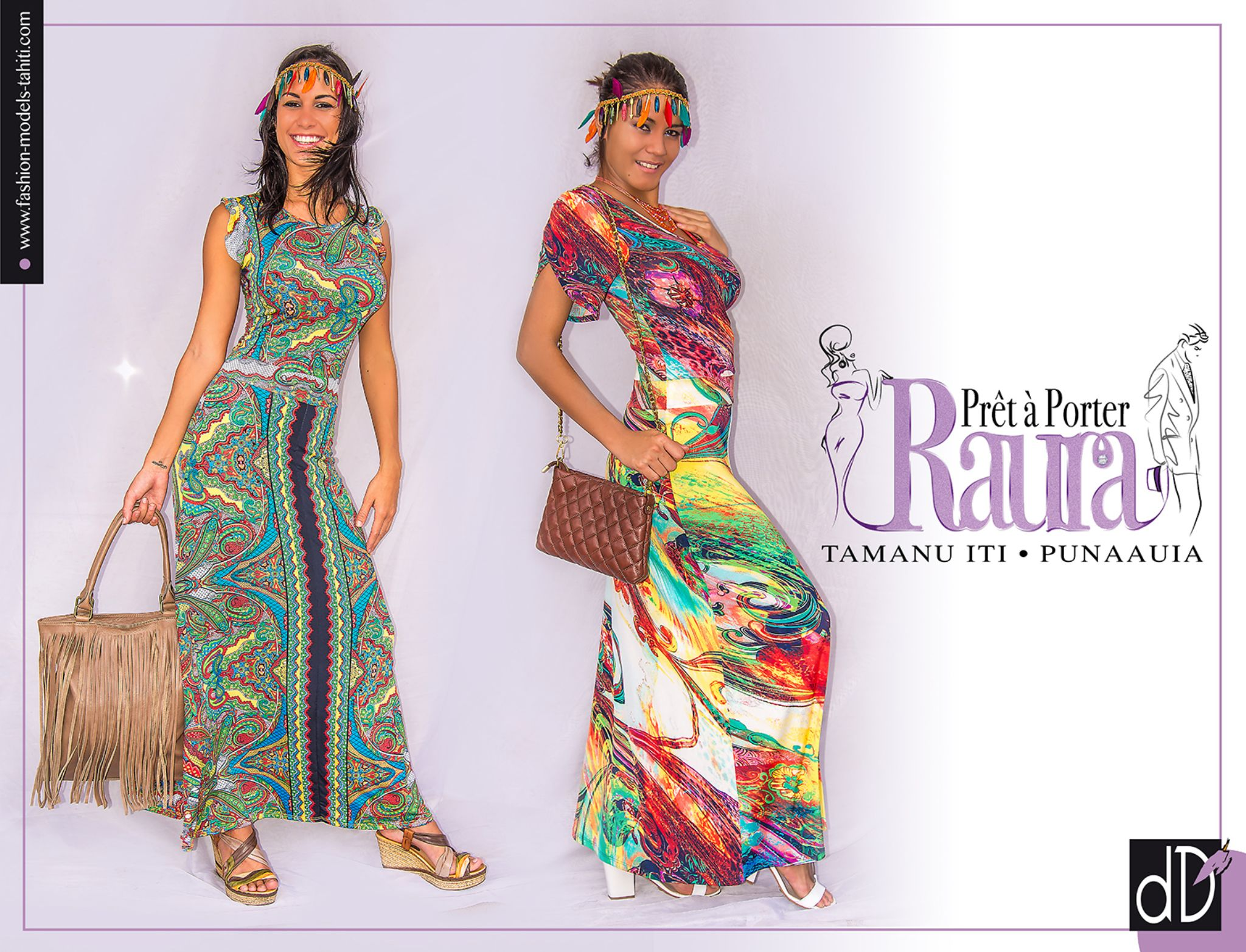 VAHINE Fashion Raura Store TAHITI by Damien Dufour