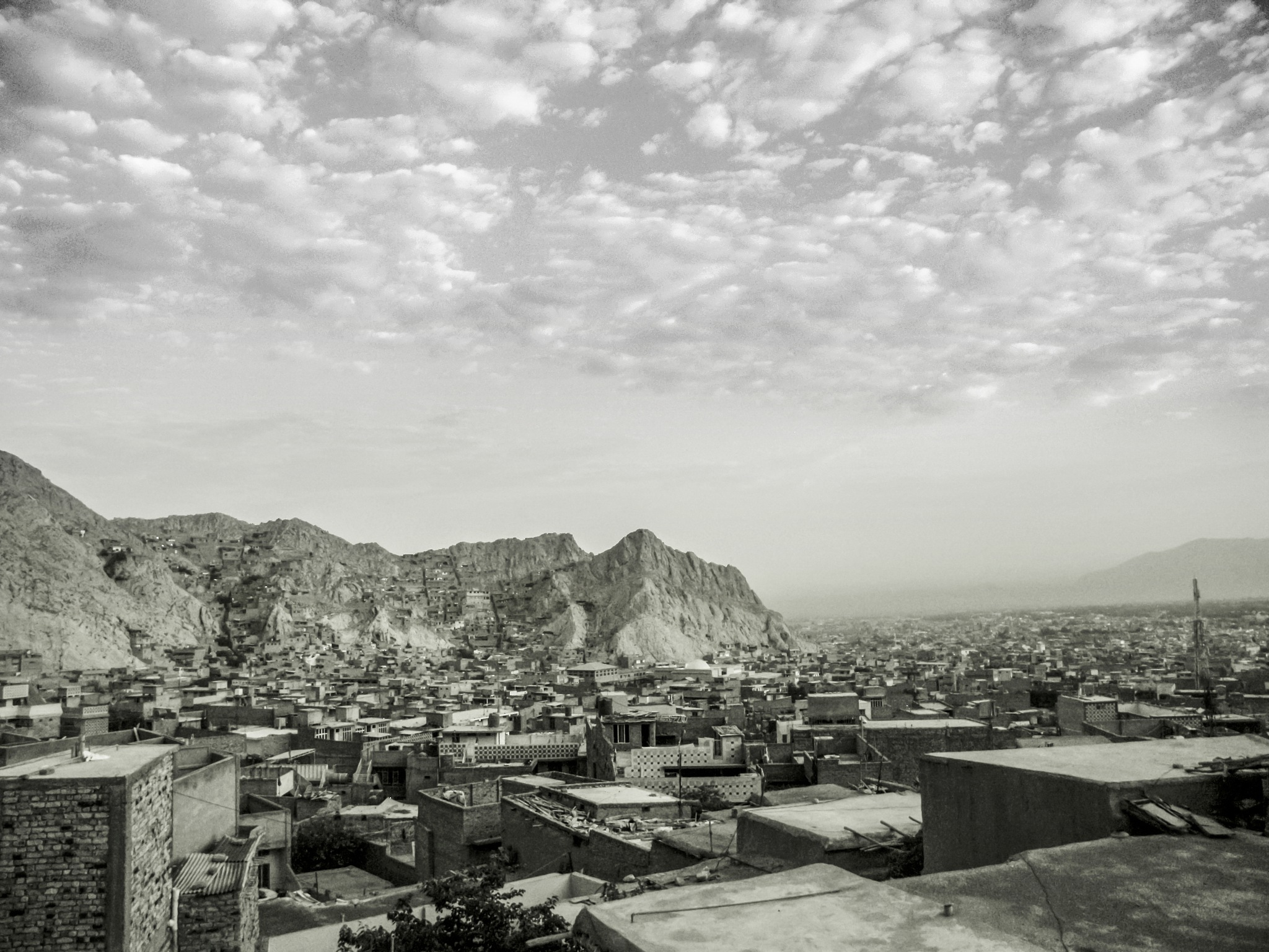 Out side of My room by Hasan Raza Khan