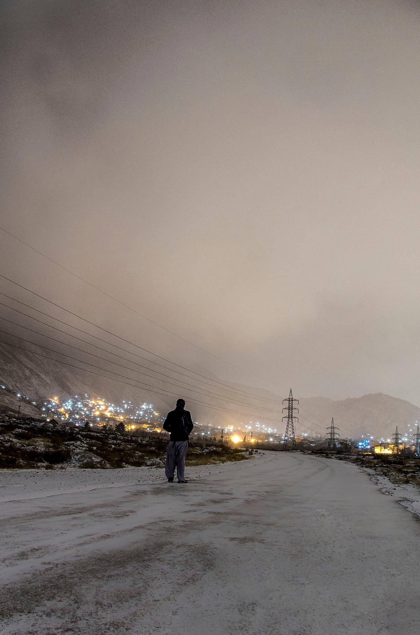 A midnight walk by Hasan Raza Khan