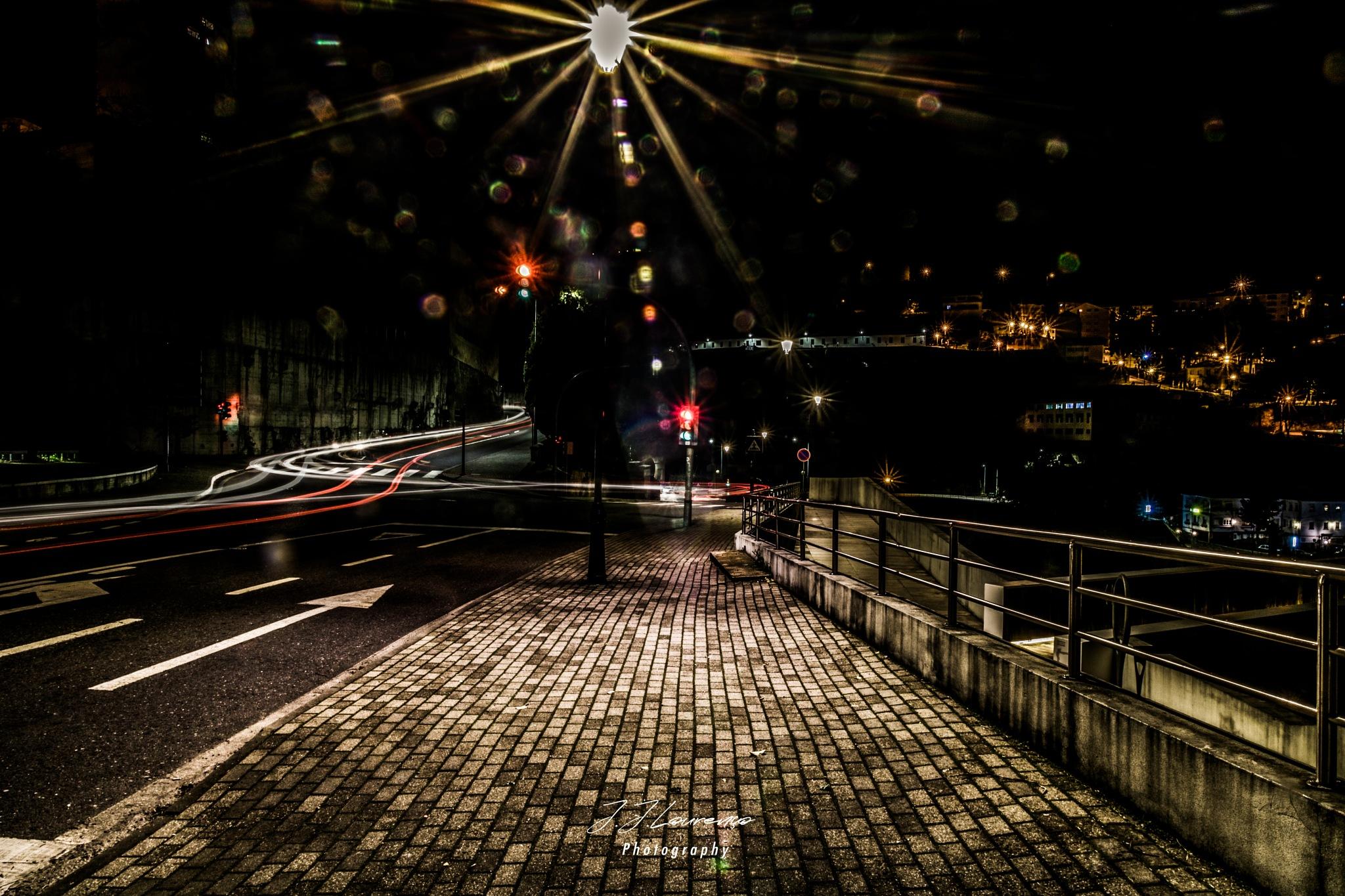 City night flares  by João José Lourenço