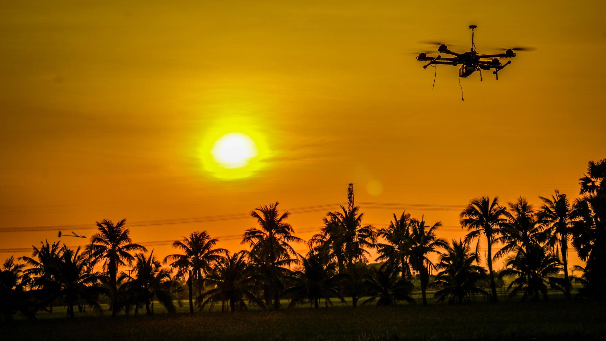 Drone by Sarayuth Golfhaha