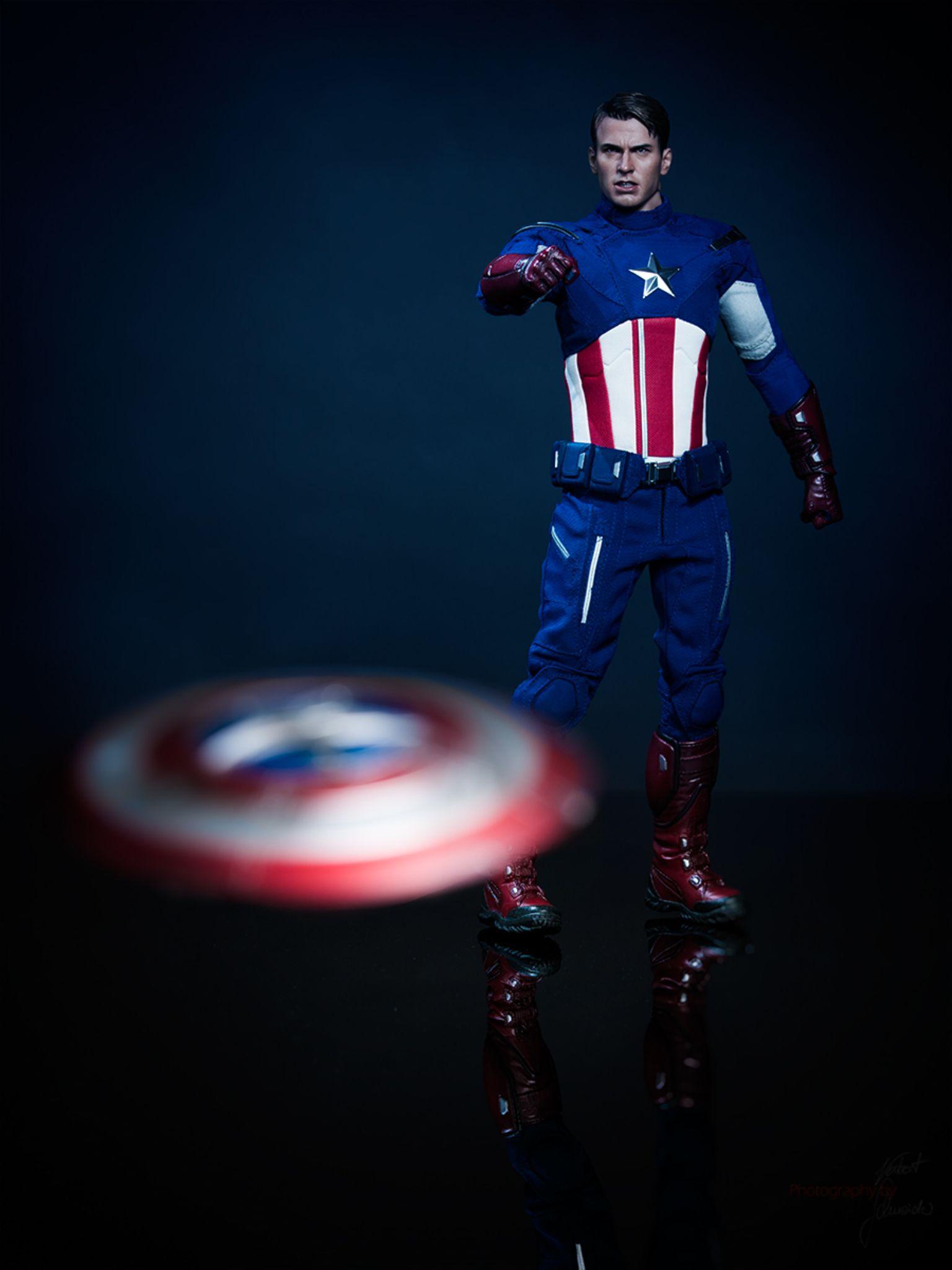 Captain America by Norbert Schneider