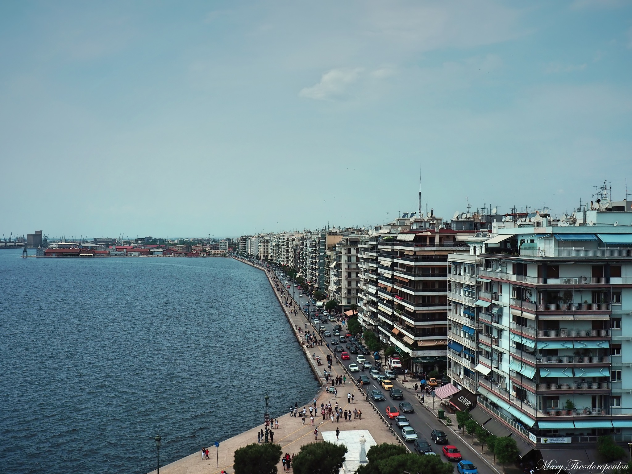 Thessaloniki-Greece-From the top of White Tower by Mary Theodoropoulou