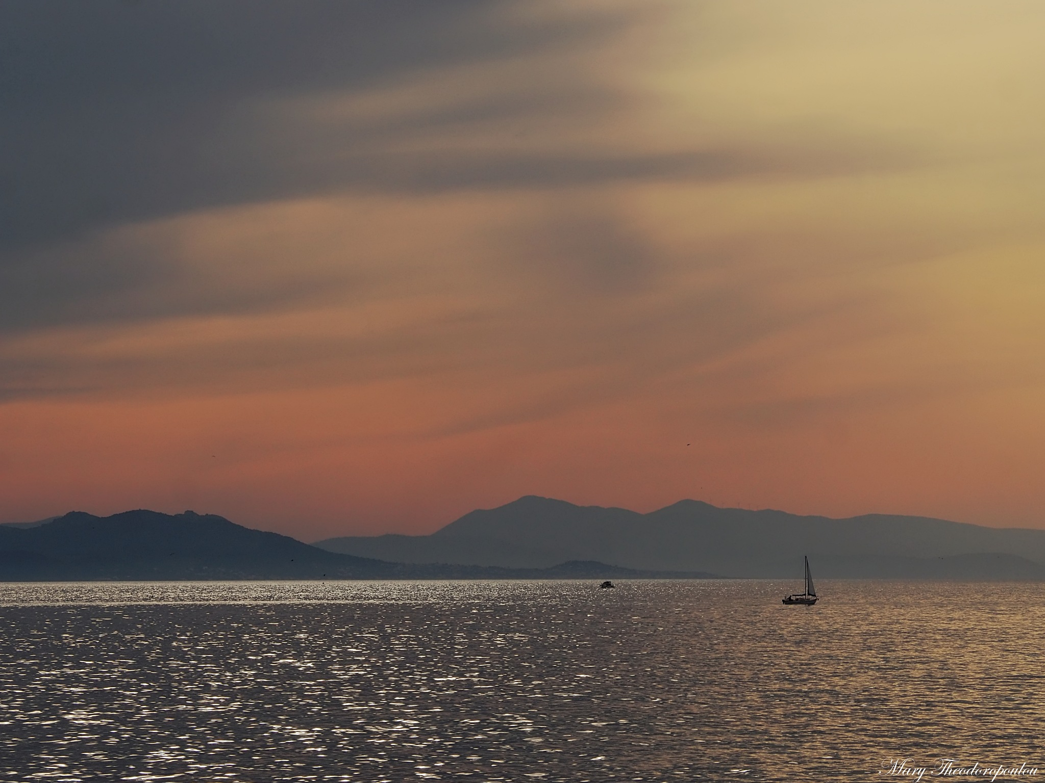 Calm sea by Mary Theodoropoulou