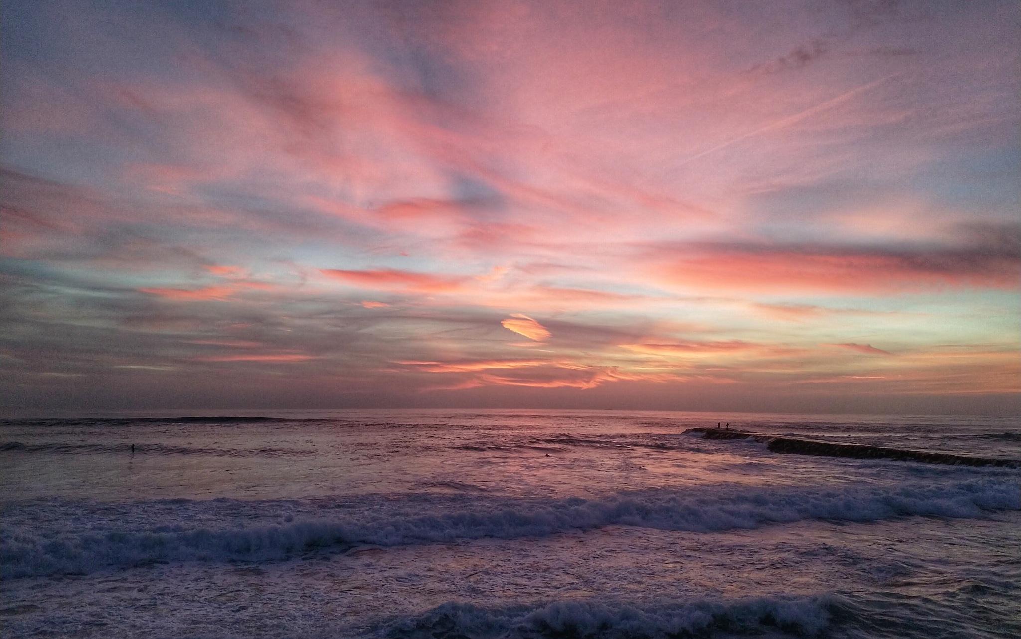 Winter sunset  by JosePicarra