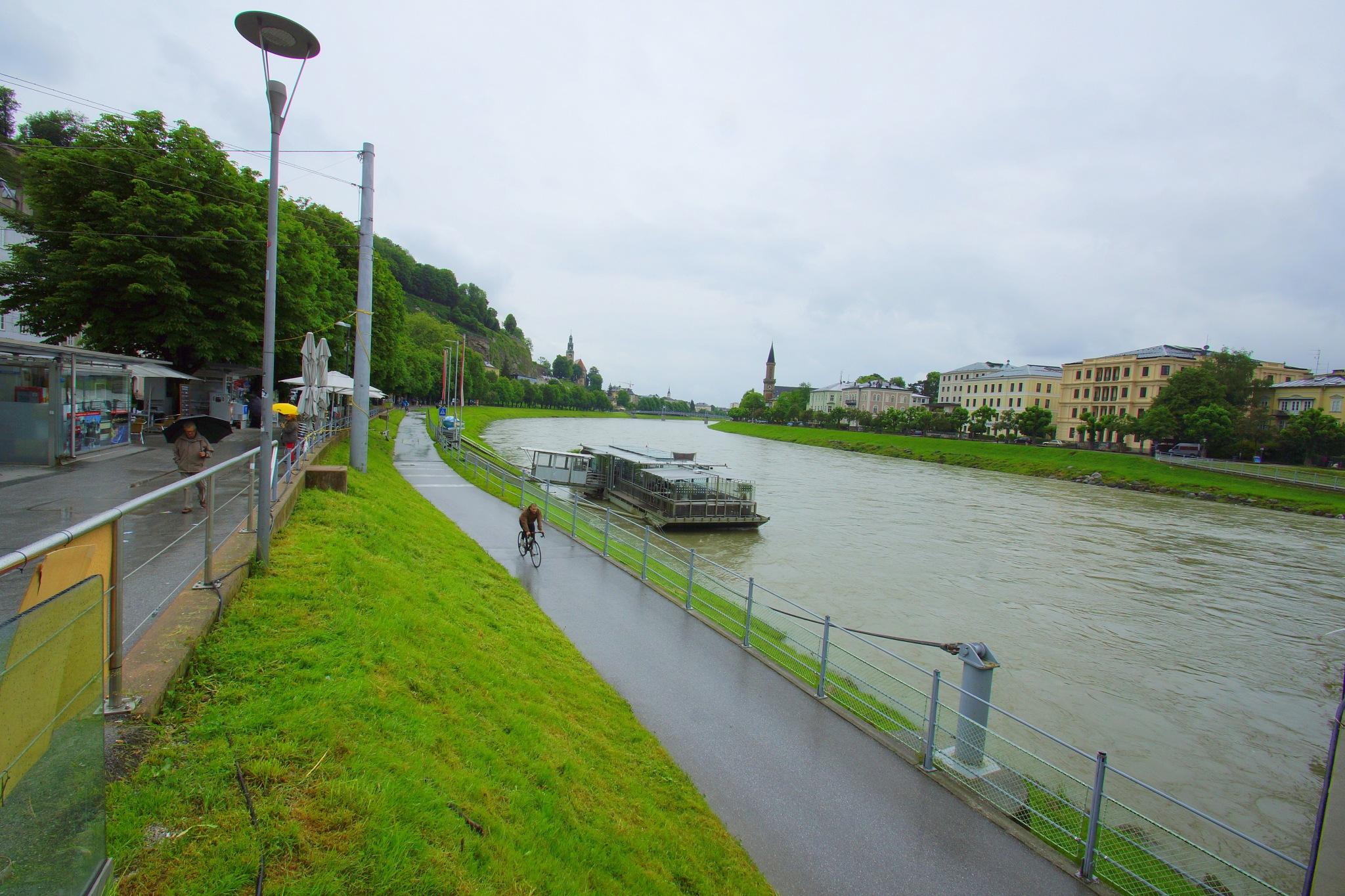 Salzach river  by MEHMET