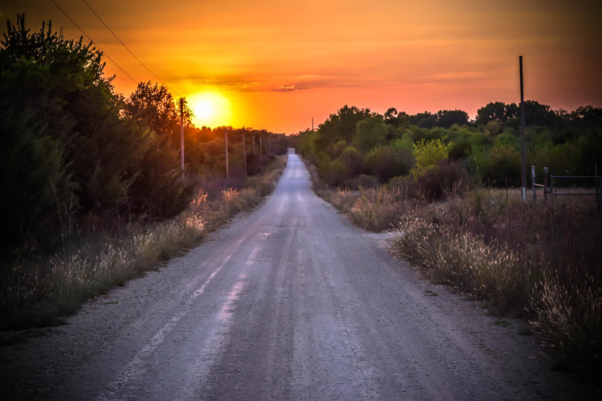 Photo in Landscape #sunset #country #peaceful