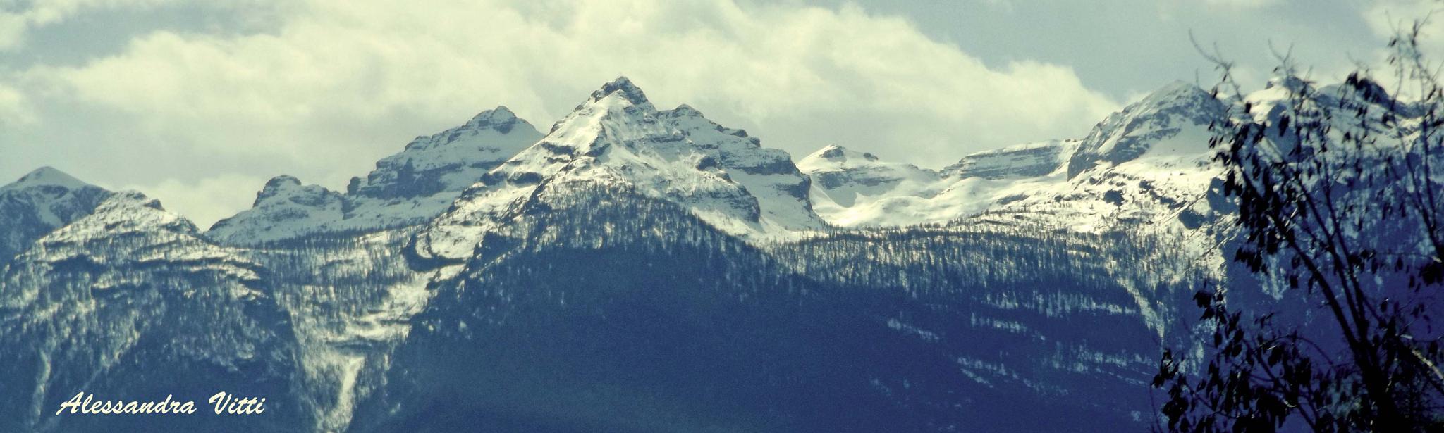 Snowy mountain  by avitti