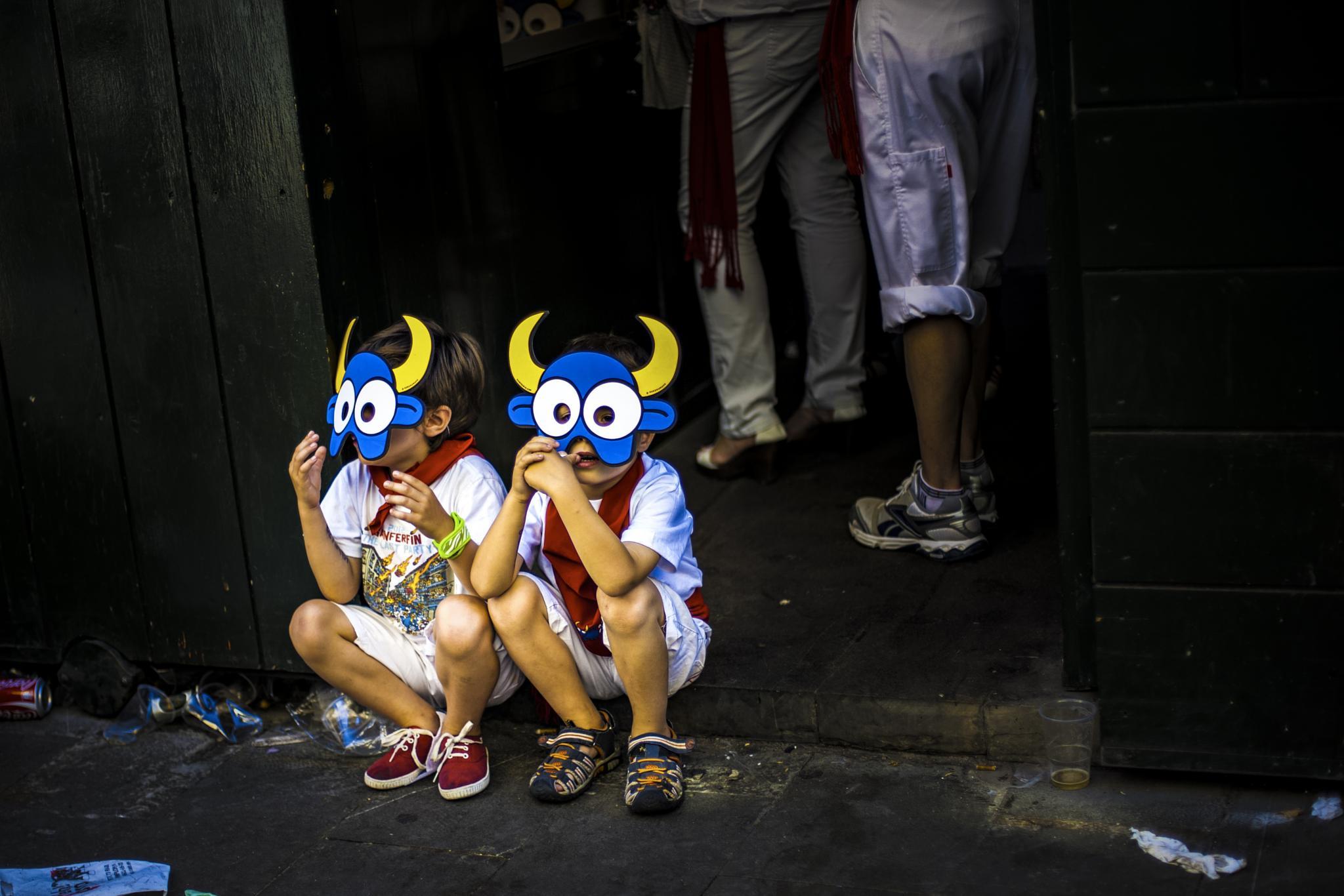 San Fermines 2014 by Miguel Angel Posincovich