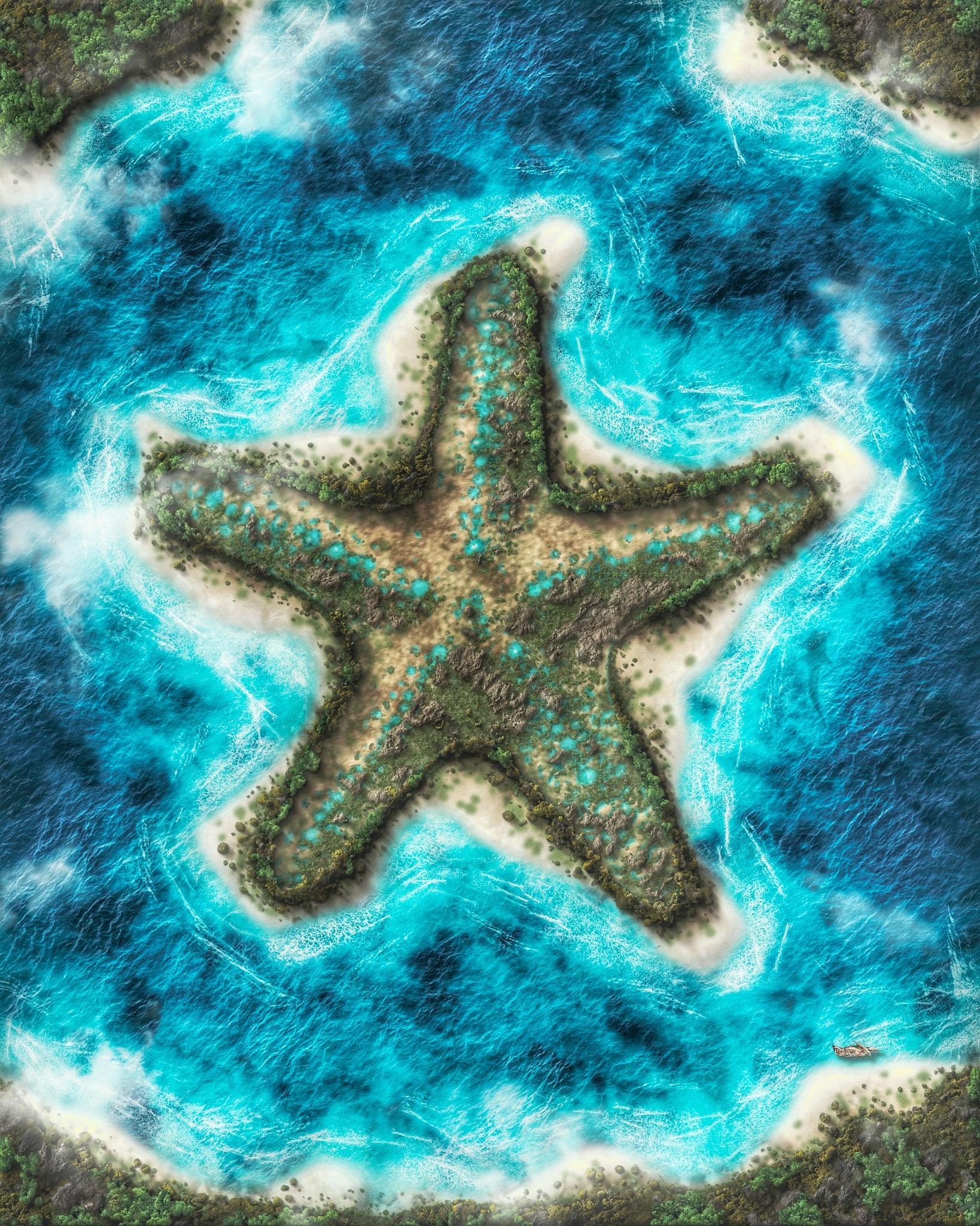 Bintang Laut Island by wahyurifo