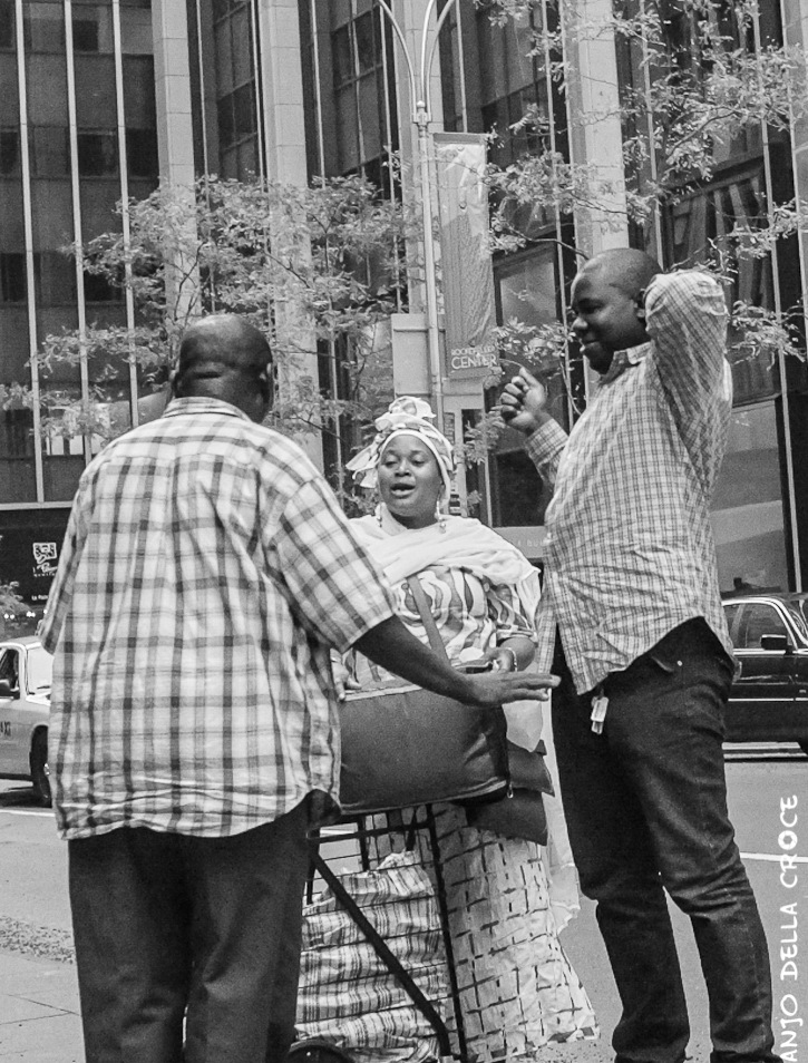 The people of New York by anjodellacroce