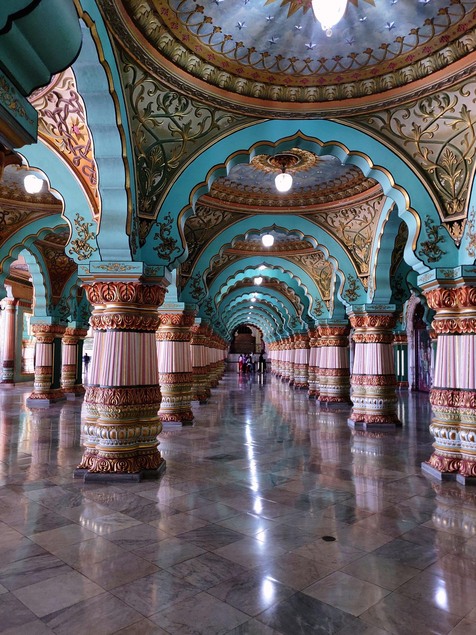 Palace interior by Shalom Thilagarajan