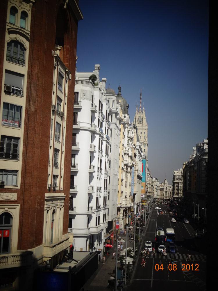 gran via. Madrid Spain by GeorgiaKom