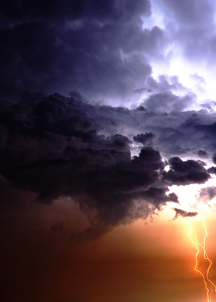 Storm in Columbia by Michal Lewandowski