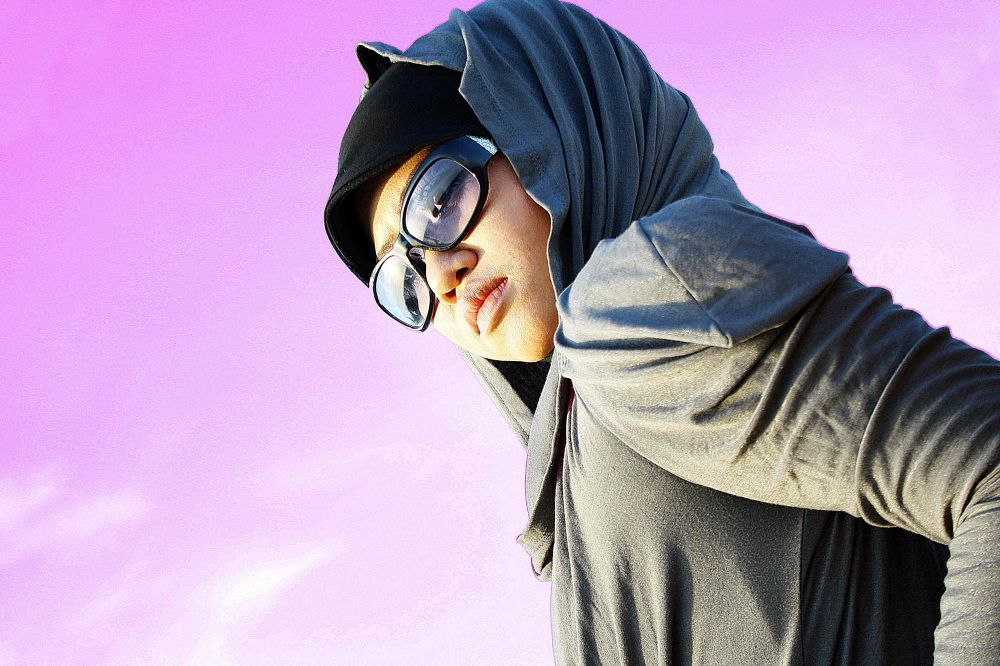 HIJABS|SKY'S PINK|GLASSES by fadlul